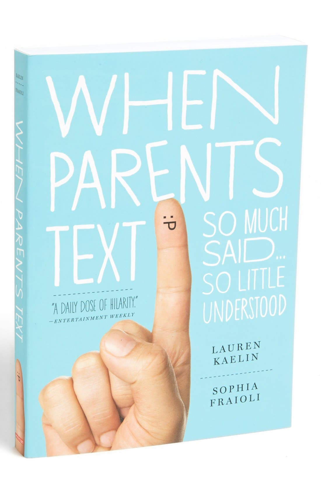 Alternate Image 1 Selected - 'When Parents Text' Novelty Book