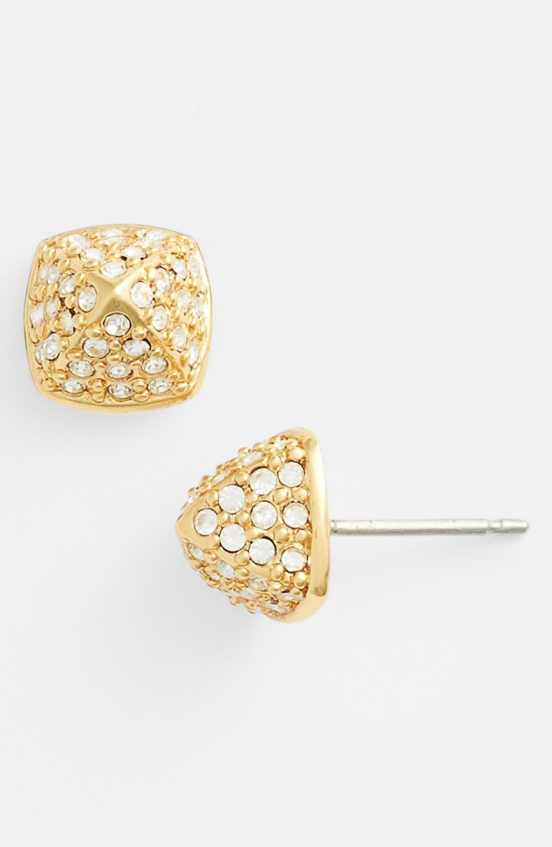 Alternate Image 1 Selected - Vince Camuto 'By the Horns' Pavé Stud Earrings