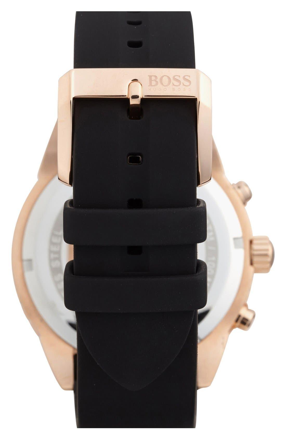 Alternate Image 2  - BOSS HUGO BOSS 'Deep Blue SX' Chronograph Watch, 46mm
