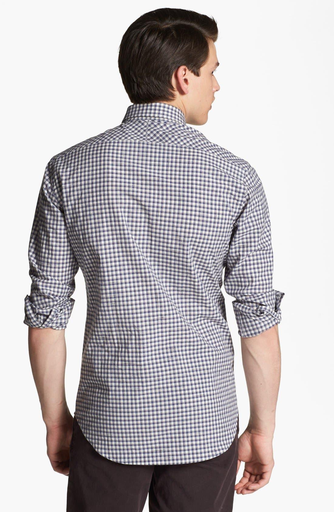 Alternate Image 2  - Billy Reid 'John T' Check Shirt