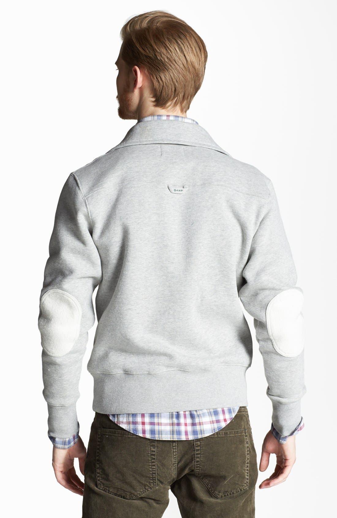 Alternate Image 2  - Gant by Michael Bastian Half-Zip Pullover Sweatshirt