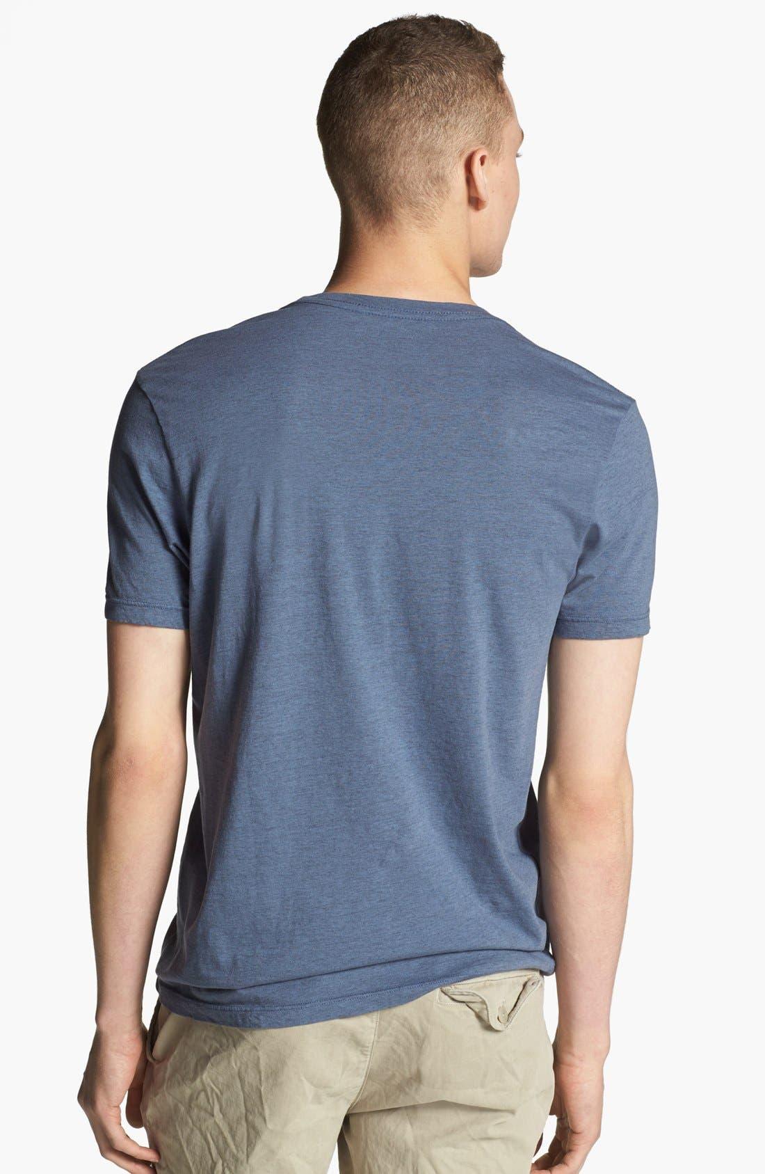 Alternate Image 2  - Save Khaki Crewneck T-Shirt