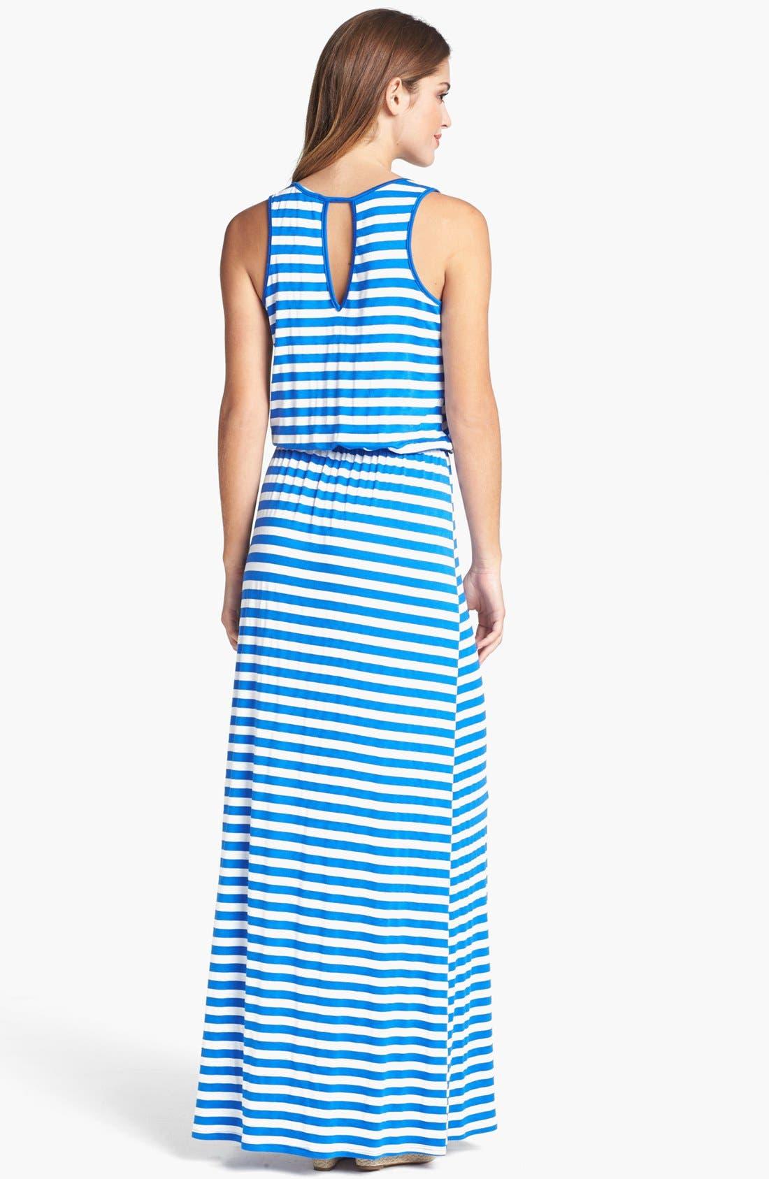 Alternate Image 2  - Pleione Cutout Maxi Dress
