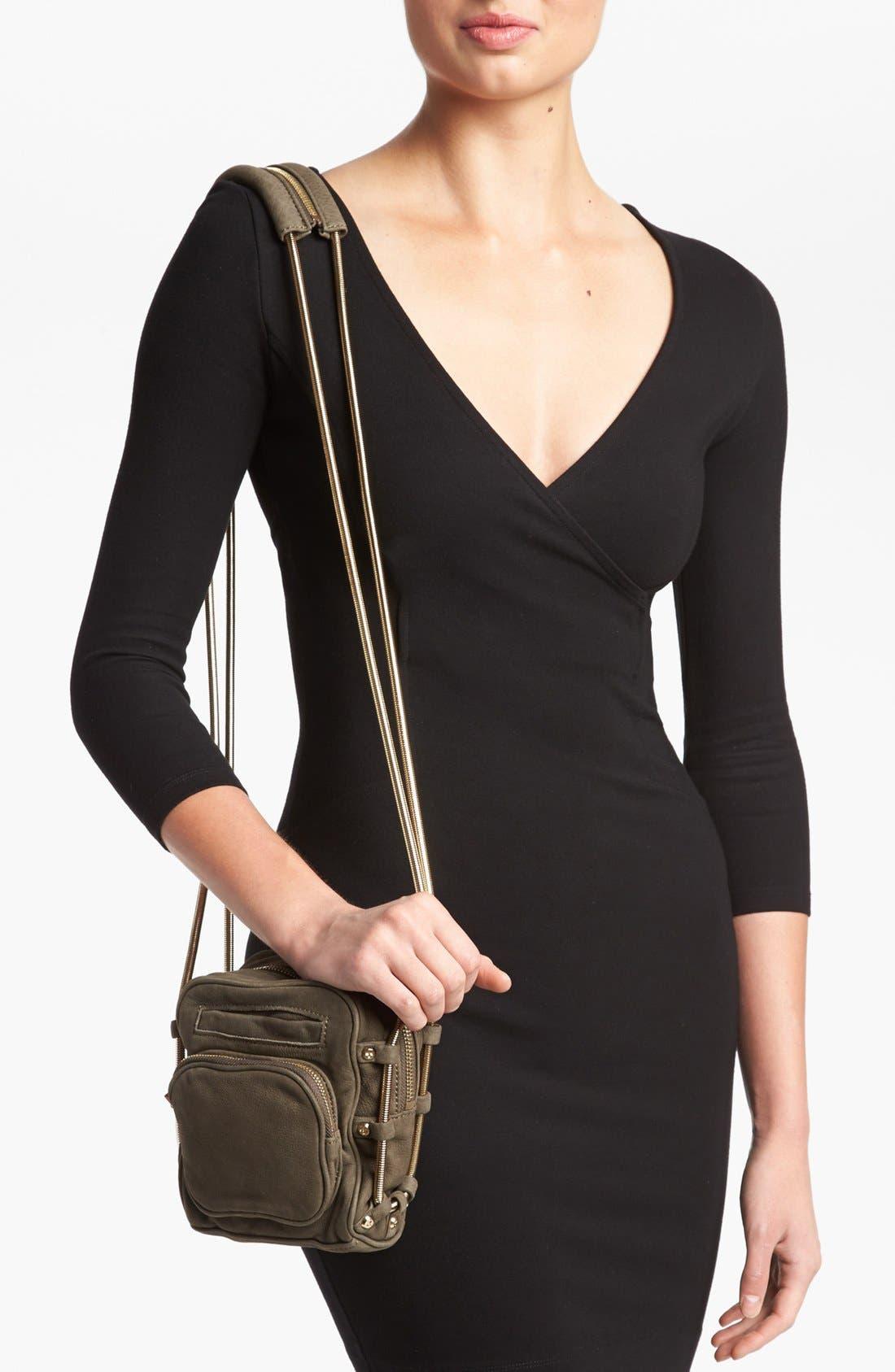 Alternate Image 2  - Alexander Wang 'Brenda - Pale Gold' Nubuck Leather Shoulder Bag, Small