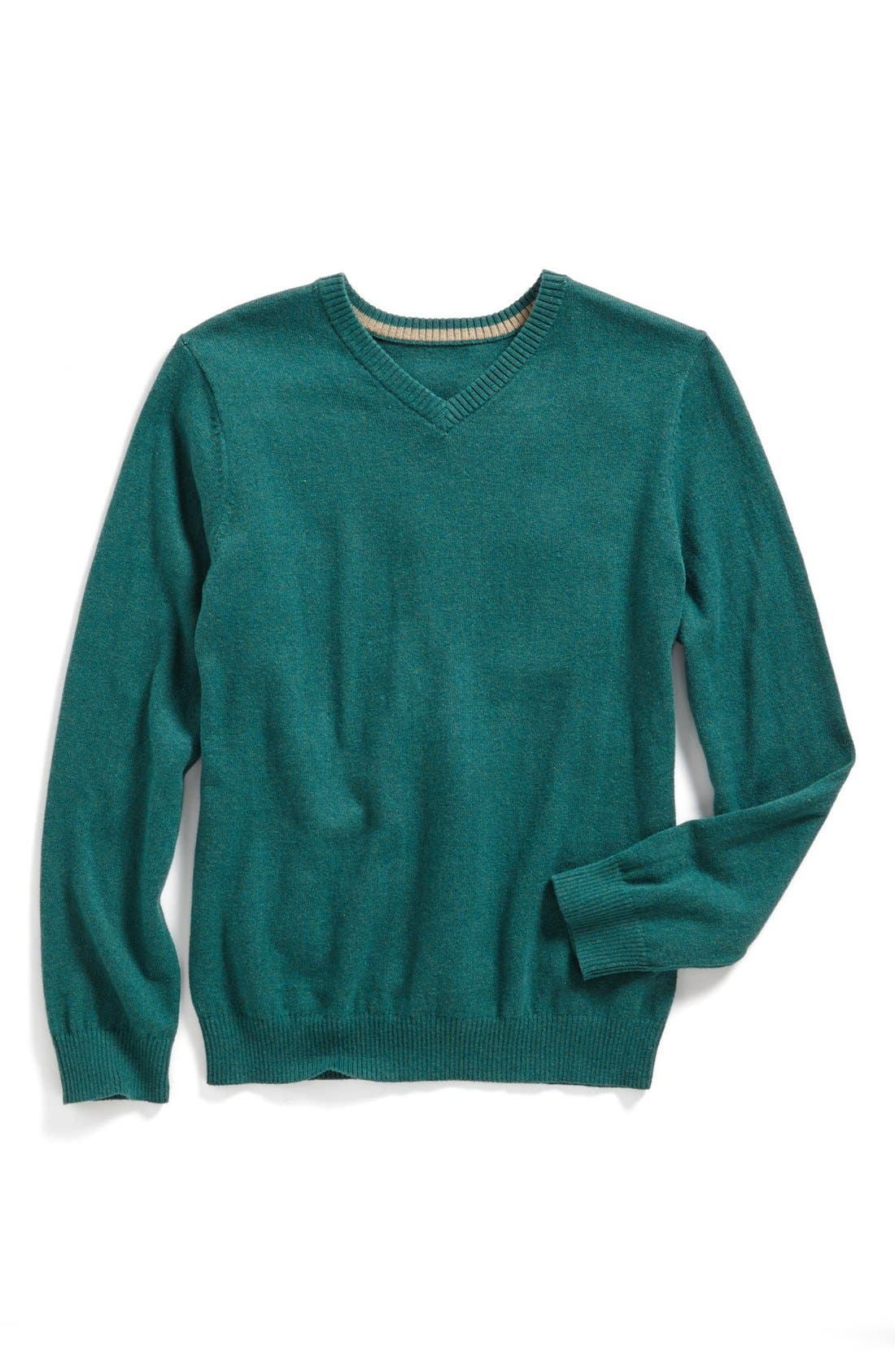 Alternate Image 1 Selected - Tucker + Tate 'Atticus' Cotton & Cashmere Sweater (Little Boys)
