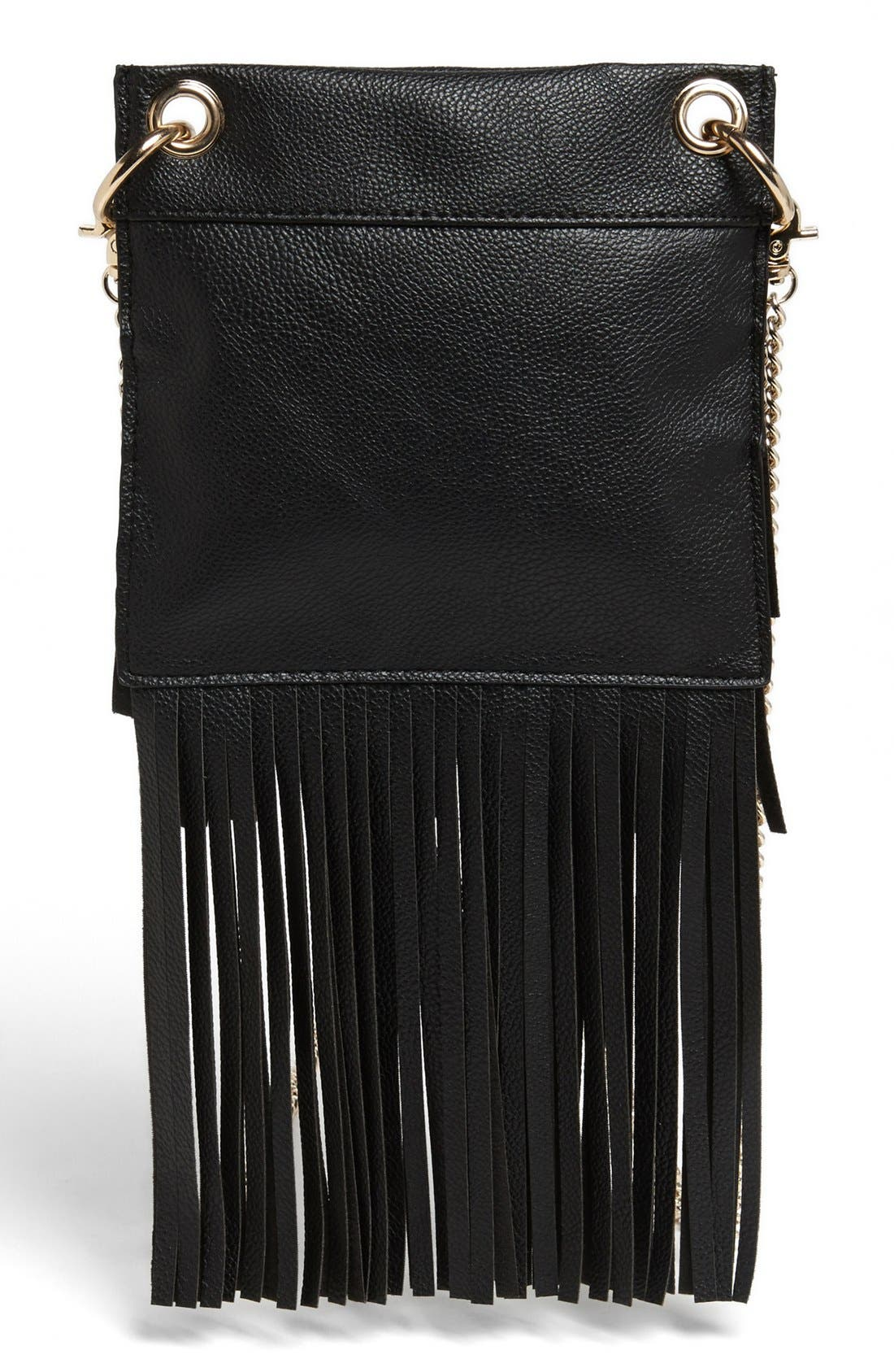 Alternate Image 3  - BP. Layered Fringe Crossbody Bag (Juniors)