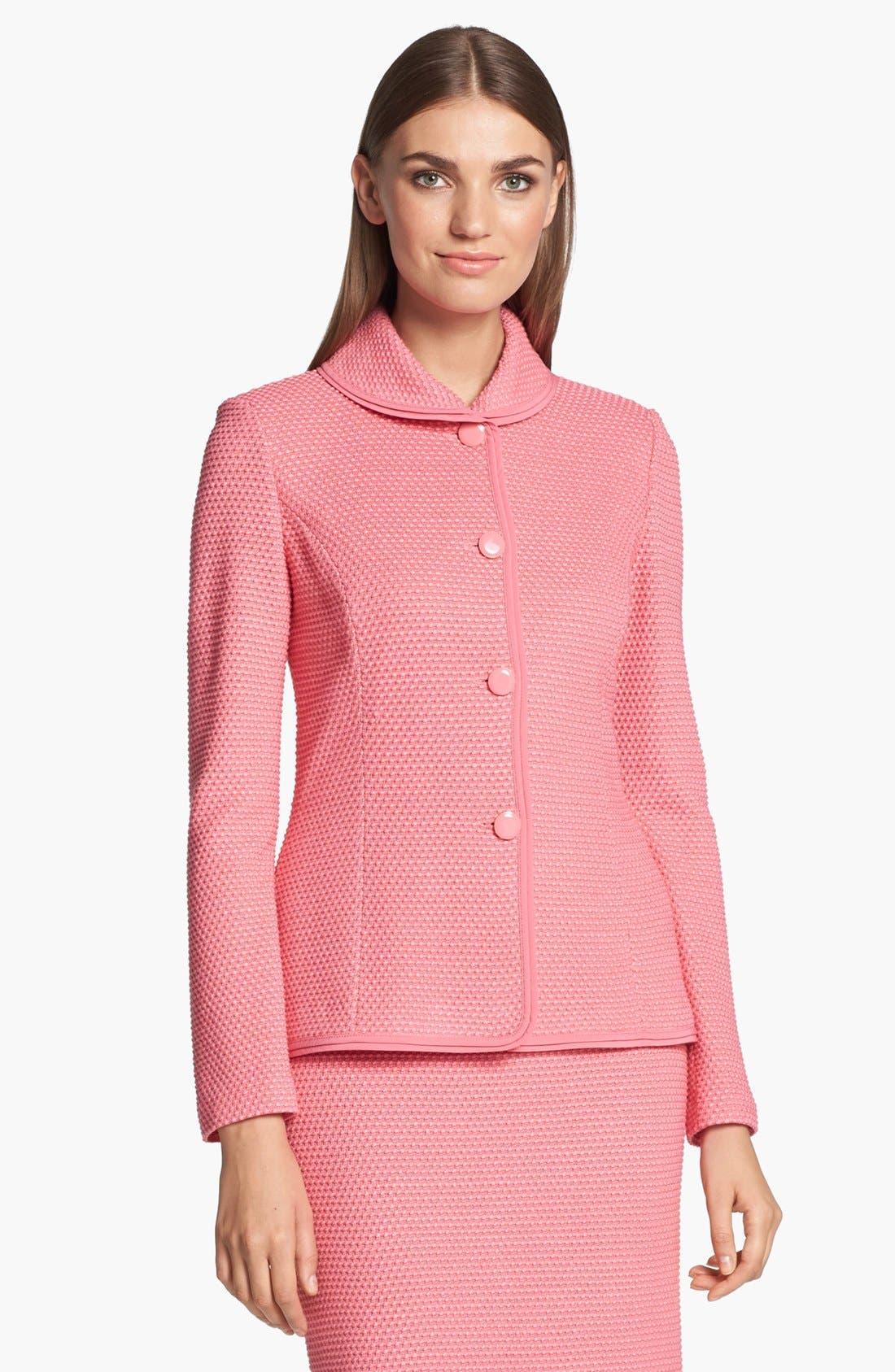 Main Image - St. John Collection Punto Riso Knit Jacket