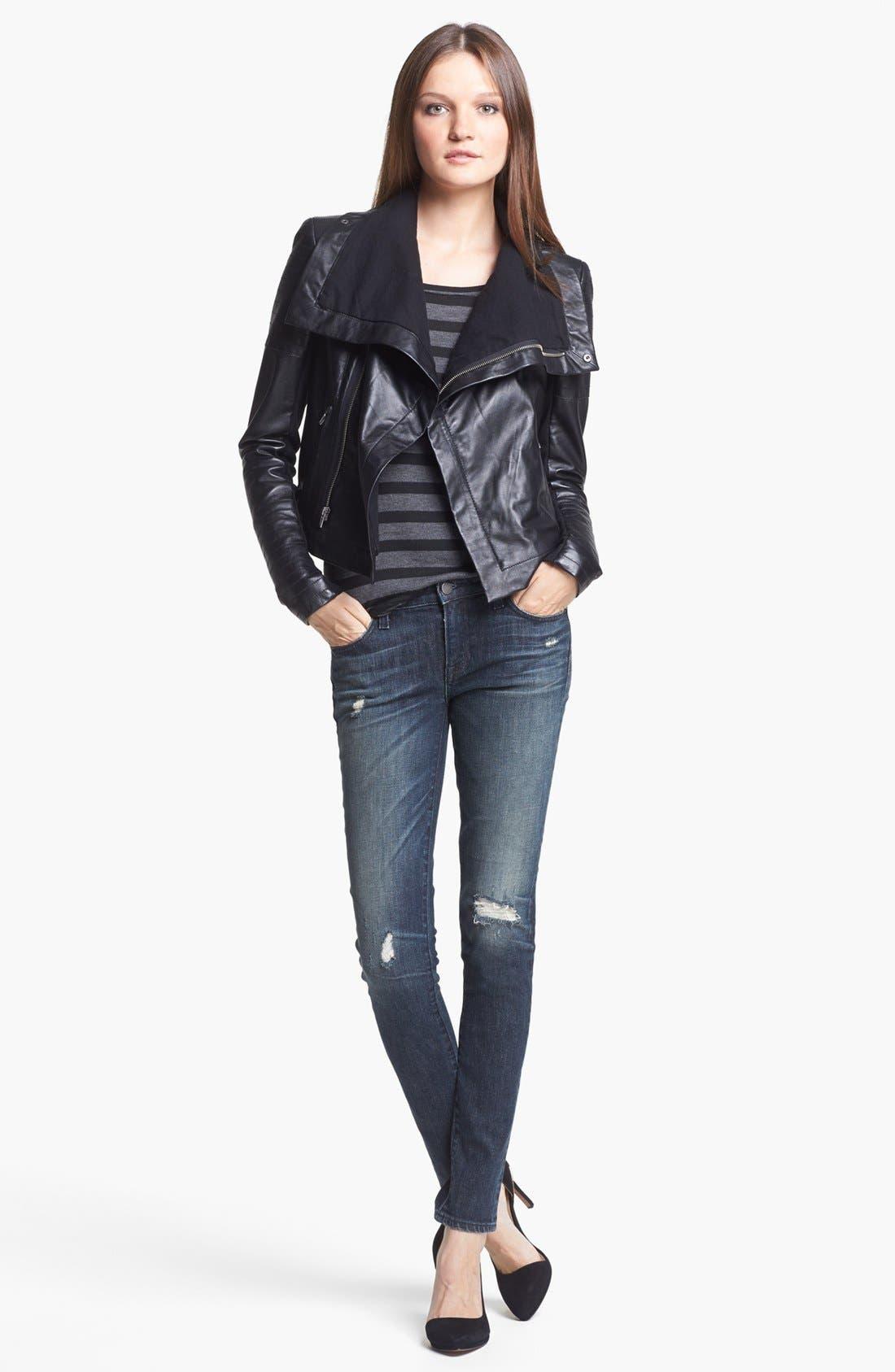 Alternate Image 3  - TEXTILE Elizabeth and James 'Kate' Skinny Jeans