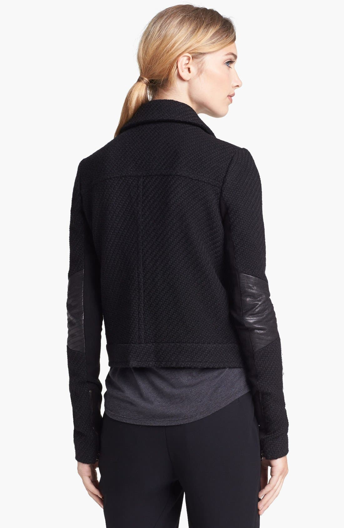 Alternate Image 2  - Vince Bouclé Moto Jacket
