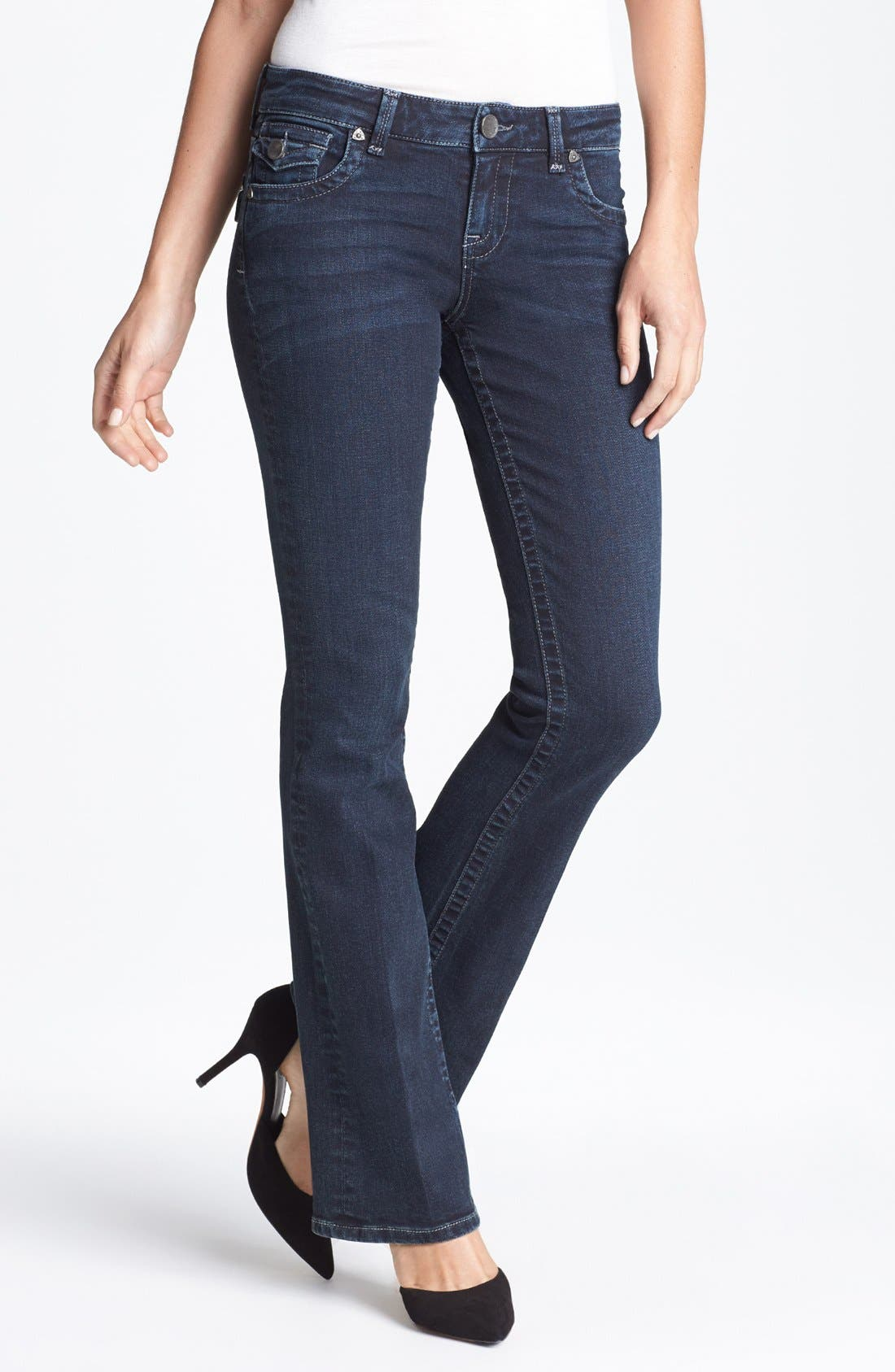 Alternate Image 1 Selected - KUT from the Kloth 'Natalie' Bootcut Jeans (Conquer)