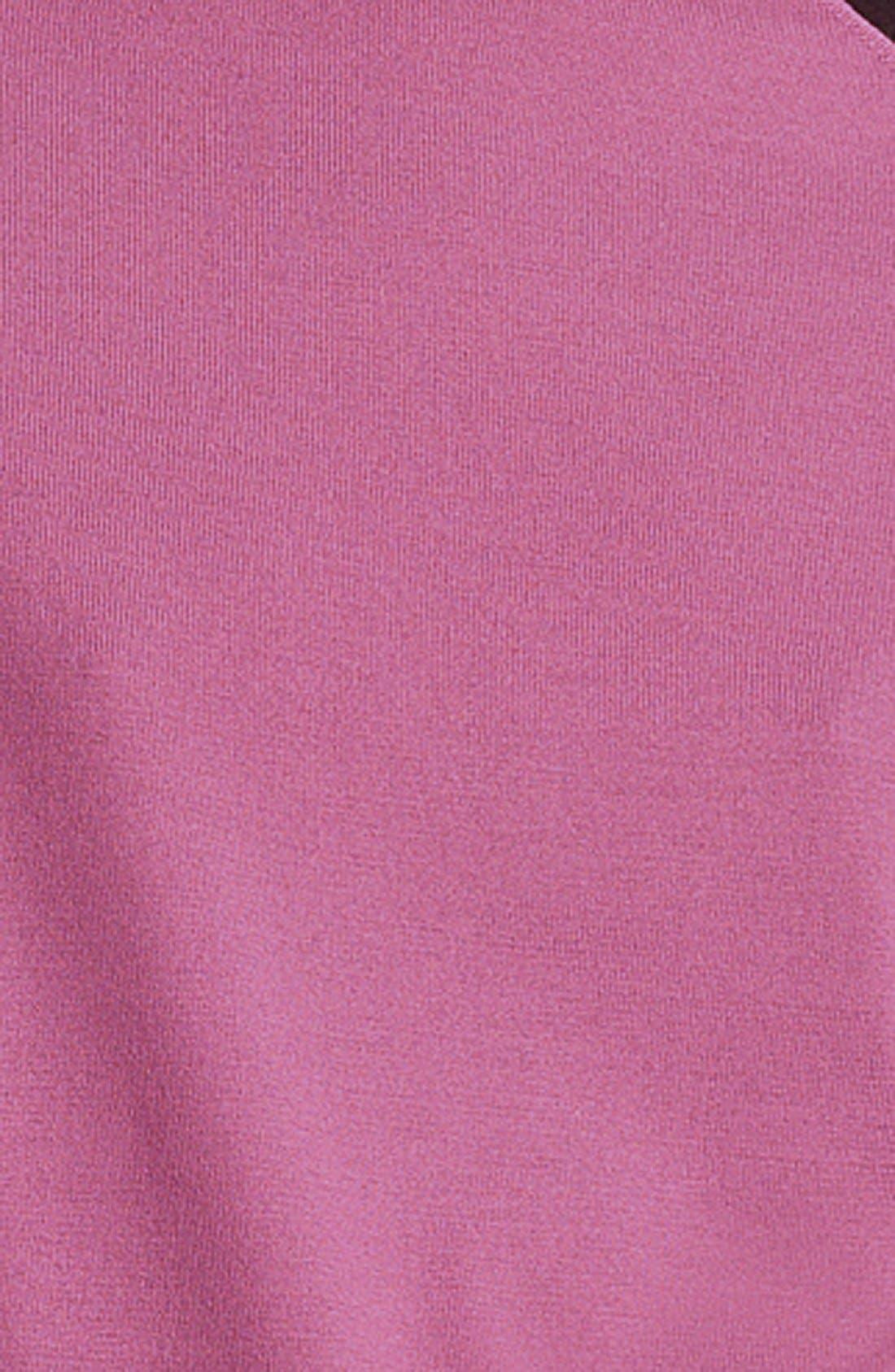 Alternate Image 3  - Lida Baday Contrast Mock Neck Sweater