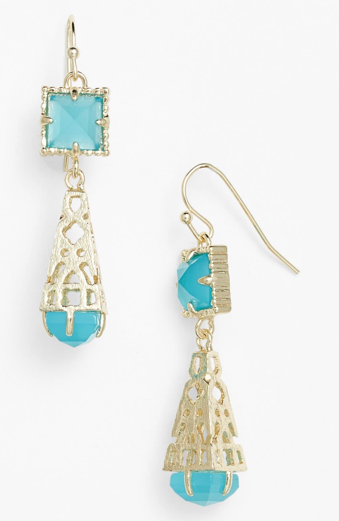 Main Image - Kendra Scott 'Leslie' Teardrop Earrings
