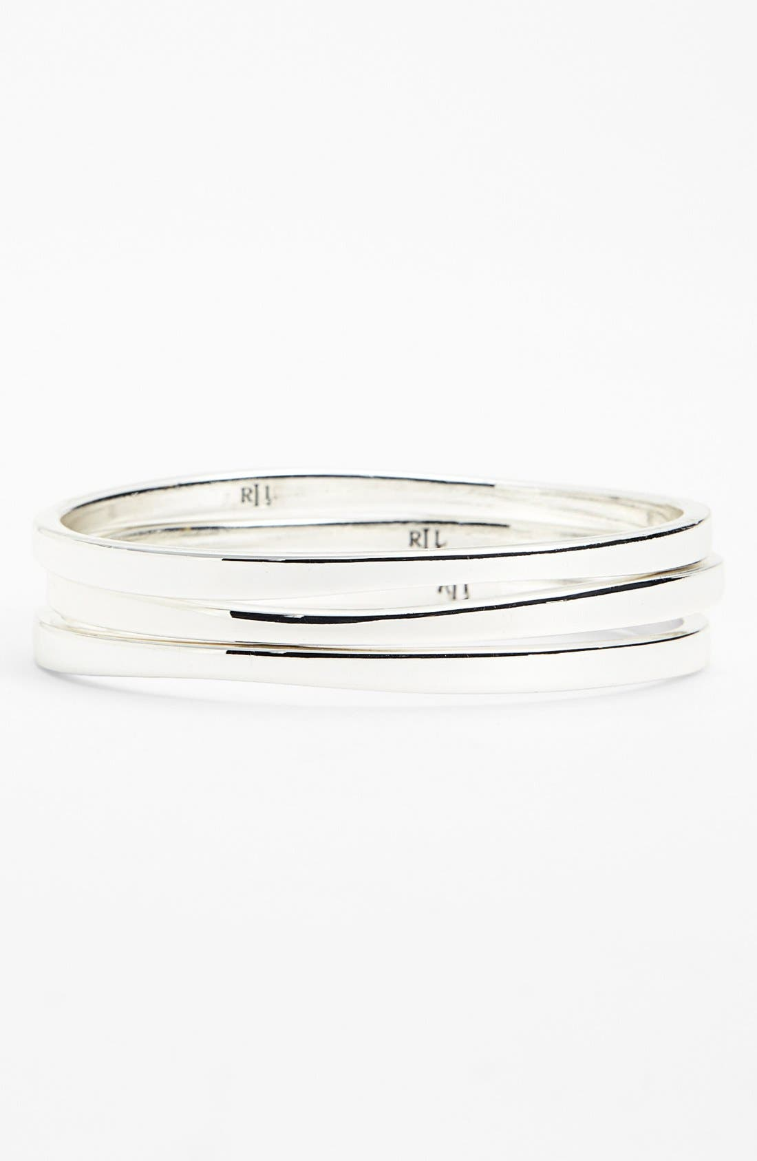 Alternate Image 1 Selected - Lauren Ralph Lauren Bangles (Set of 3)