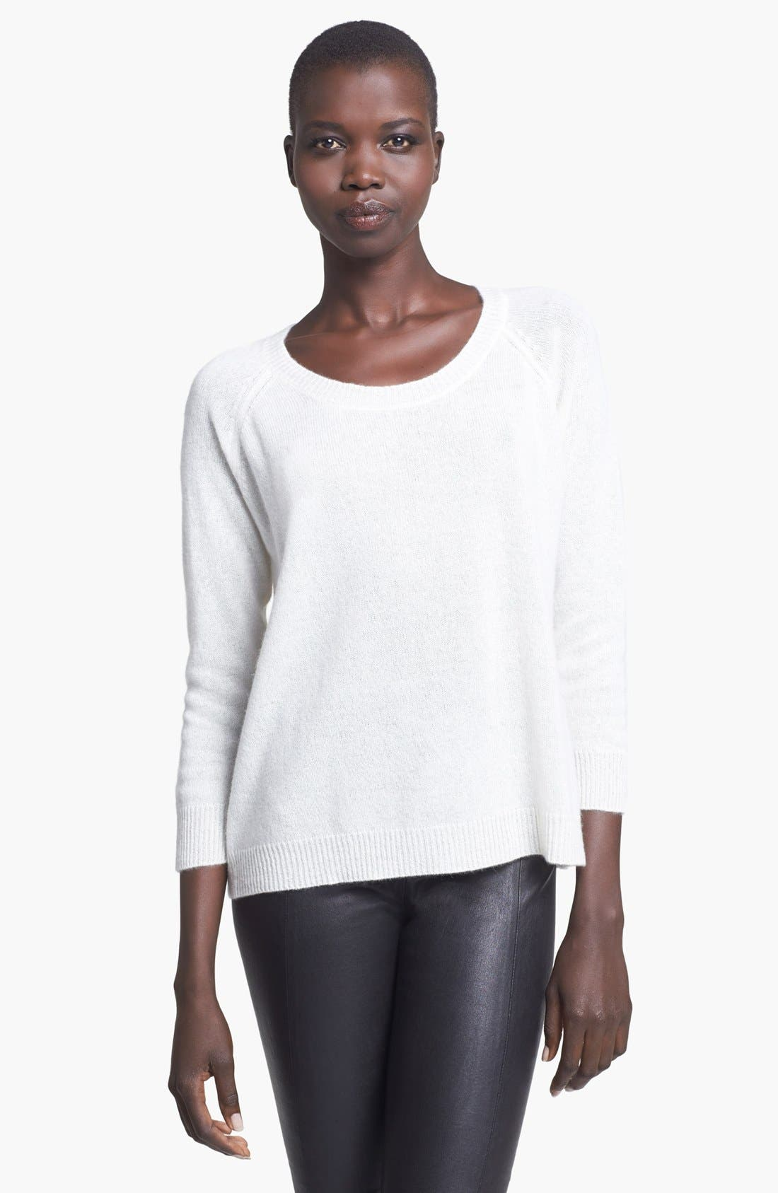 Alternate Image 1 Selected - Enza Costa Cashmere Sweater