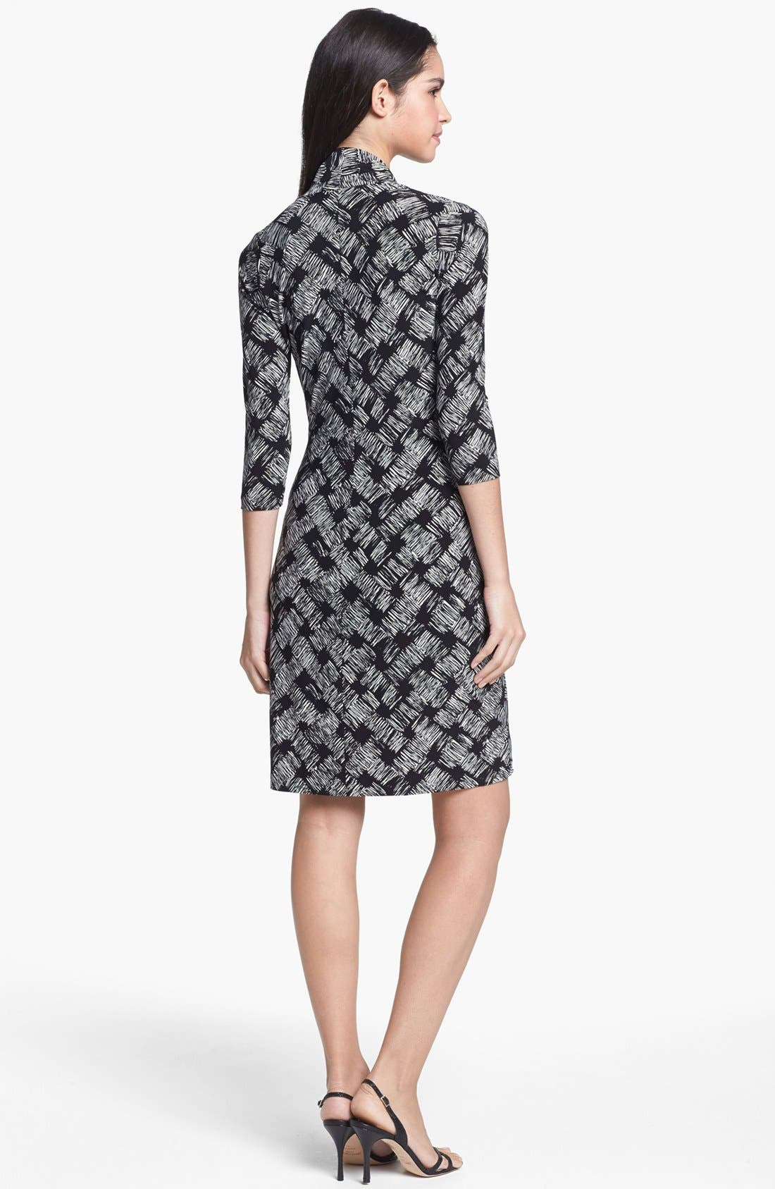 Alternate Image 2  - KAMALIKULTURE Print Side Drape Sheath Dress