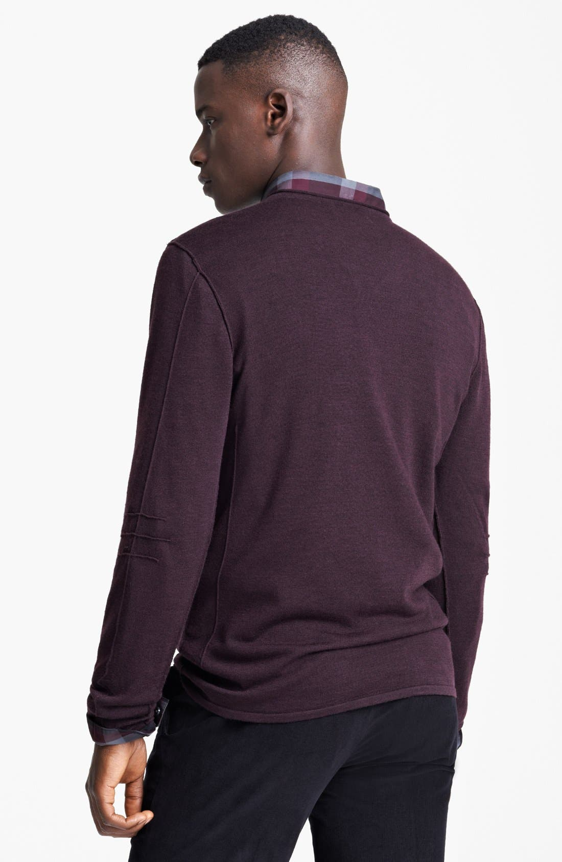 Alternate Image 2  - John Varvatos Star USA V-Neck Sweater