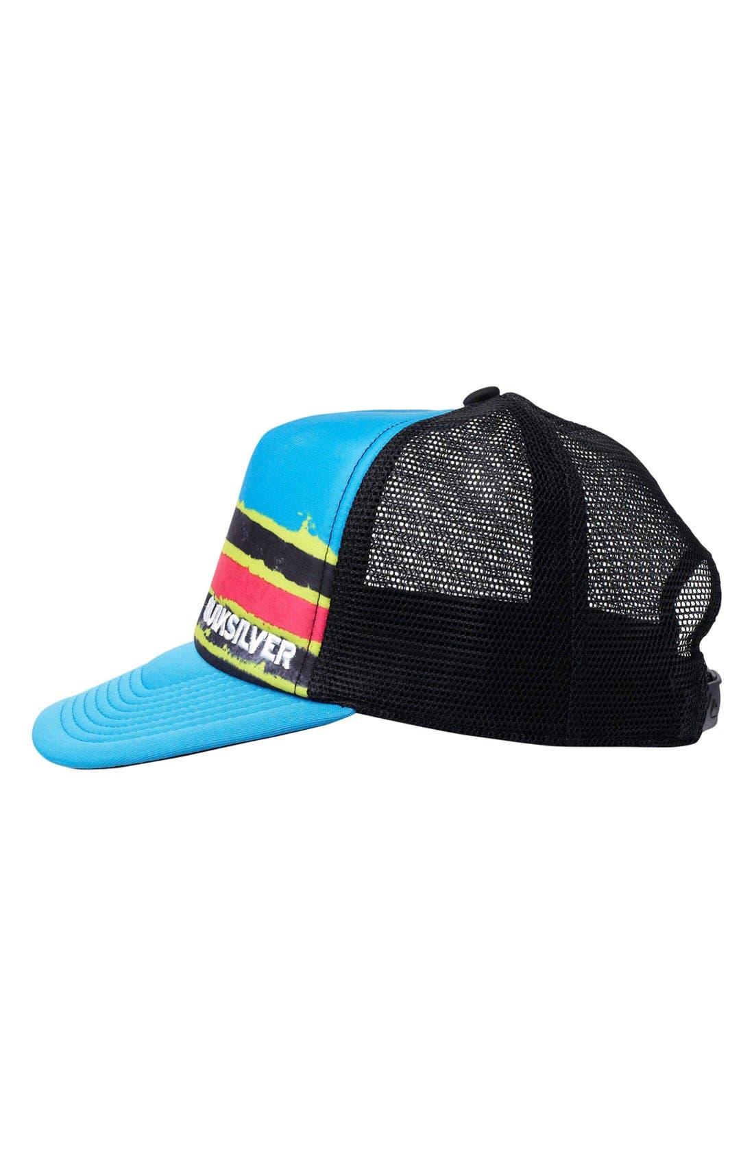 Alternate Image 2  - Quiksilver 'Boards' Trucker Hat (Toddler Boys)
