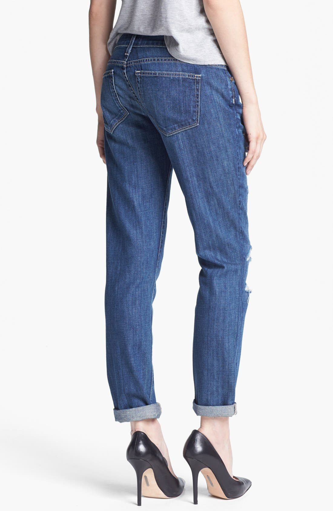 Alternate Image 2  - Paige Denim 'Jimmy Jimmy' Distressed Straight Leg Jeans (Riot)