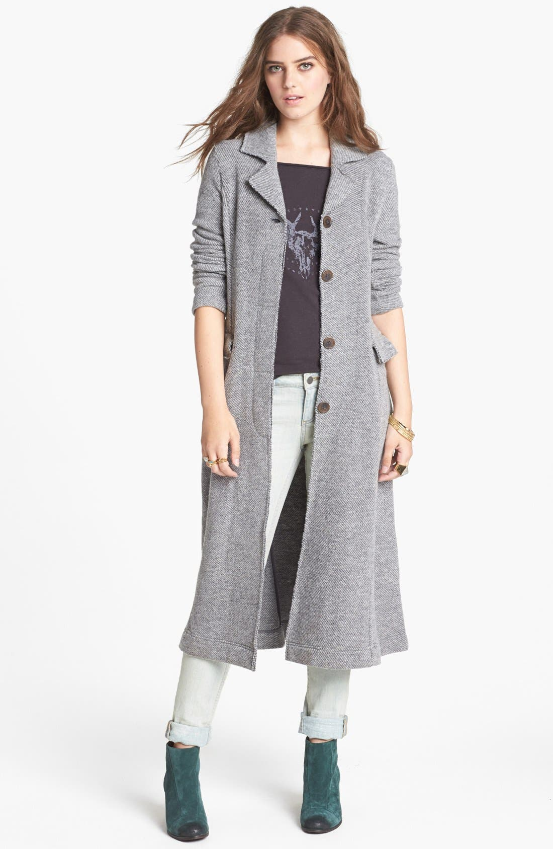 Alternate Image 1 Selected - Free People Trench Duster
