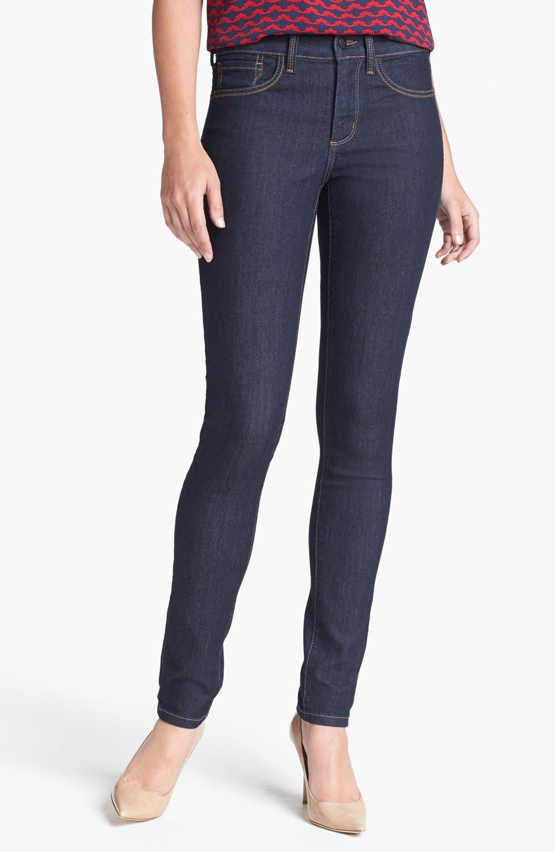 Main Image - NYDJ 'Ami' Stretch Skinny Jeans (Dark Enzyme)