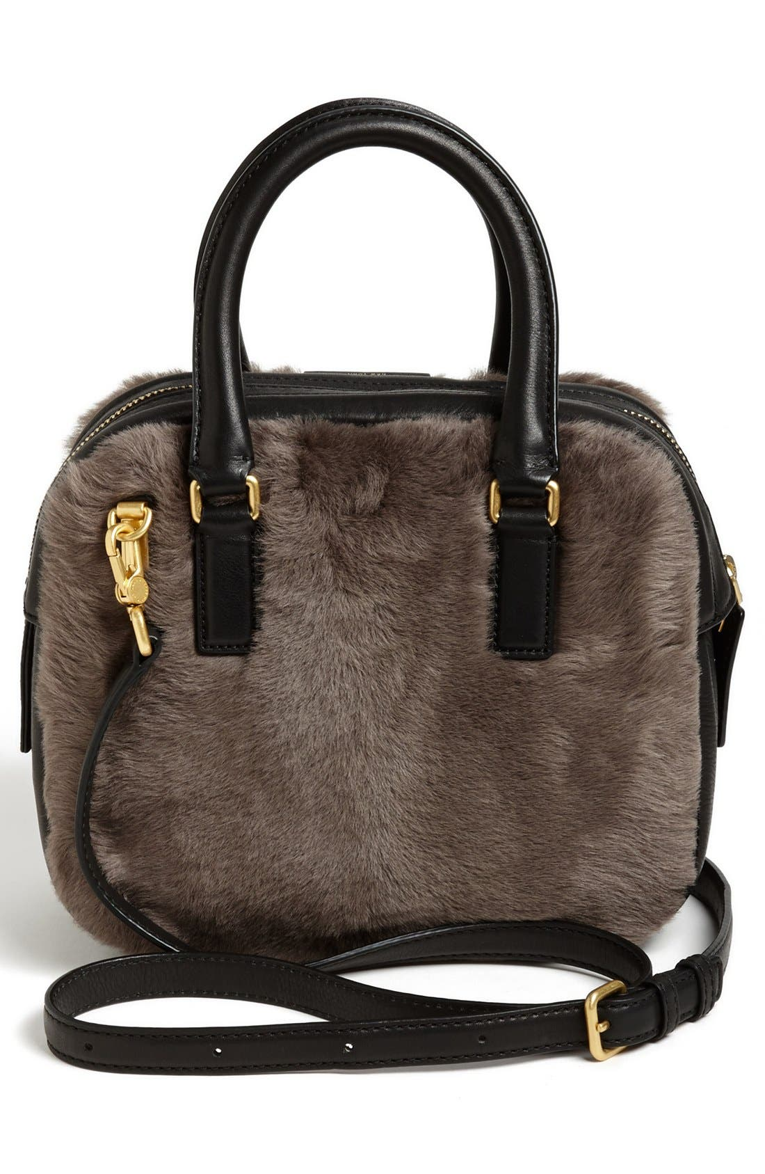 Alternate Image 4  - MARC BY MARC JACOBS 'Show Group Clover' Genuine Shearling Crossbody Bag