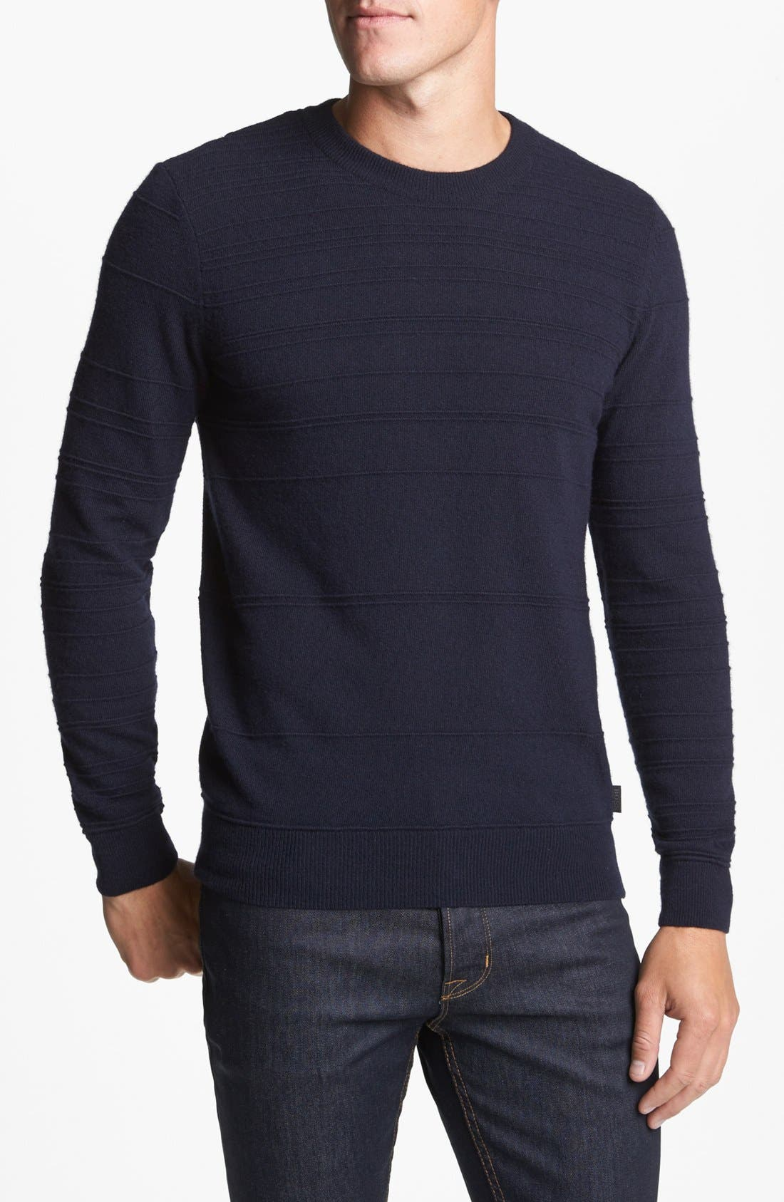 Alternate Image 1 Selected - BOSS HUGO BOSS 'Murphy' Stripe Sweater