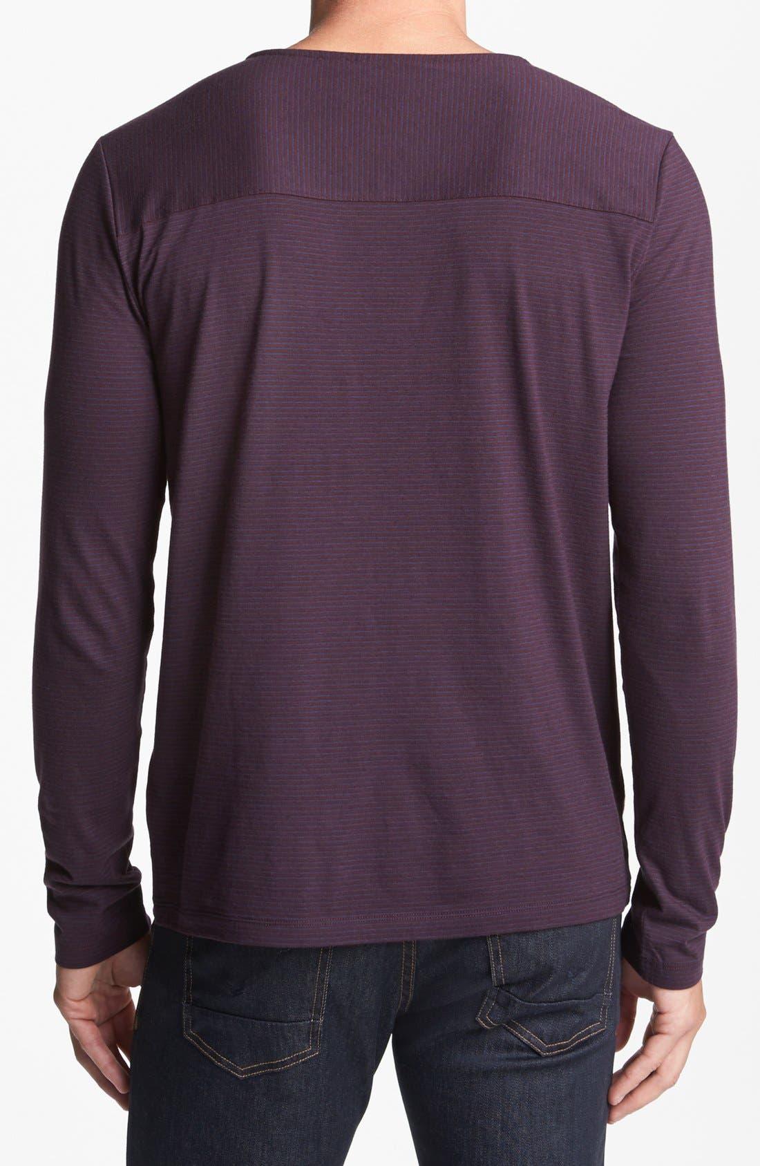 Alternate Image 2  - HUGO 'Darlone' Crewneck Shirt