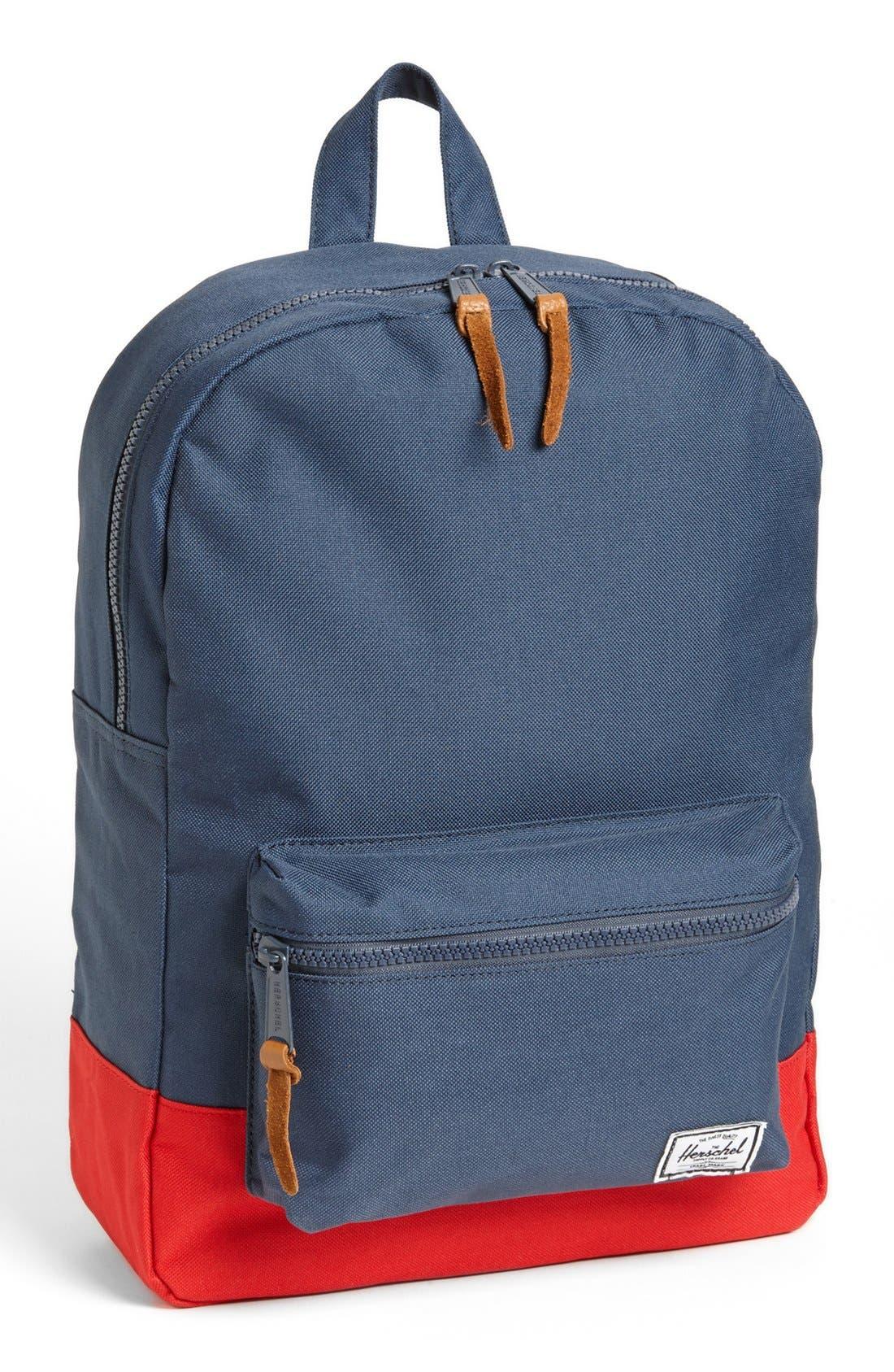 Alternate Image 1 Selected - Herschel Supply Co. 'Settlement' Backpack (Big Kid)