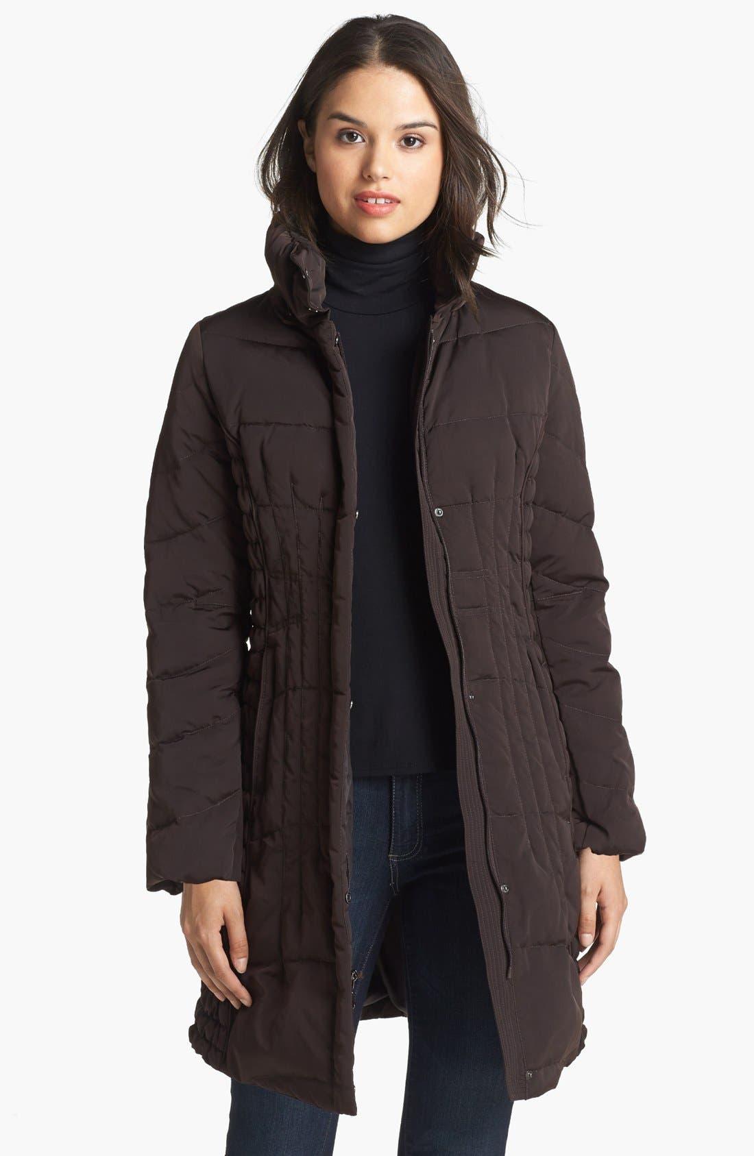 Alternate Image 4  - 1 Madison Genuine Fox & Faux Fur Trim Down Walking Coat