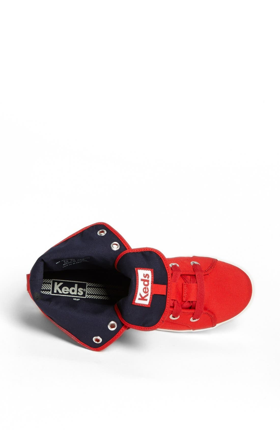 Alternate Image 3  - Keds® 'Rookie - Loop-De-Loop' High Top Sneaker (Women)