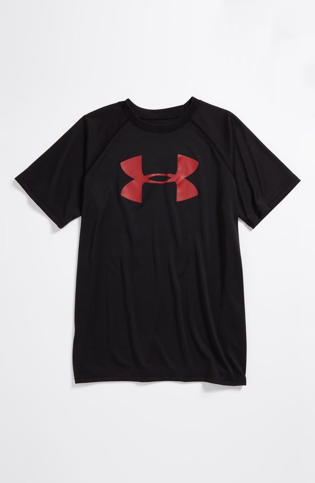 Alternate Image 1 Selected - Under Armour 'Big Logo' T-Shirt (Big Boys)