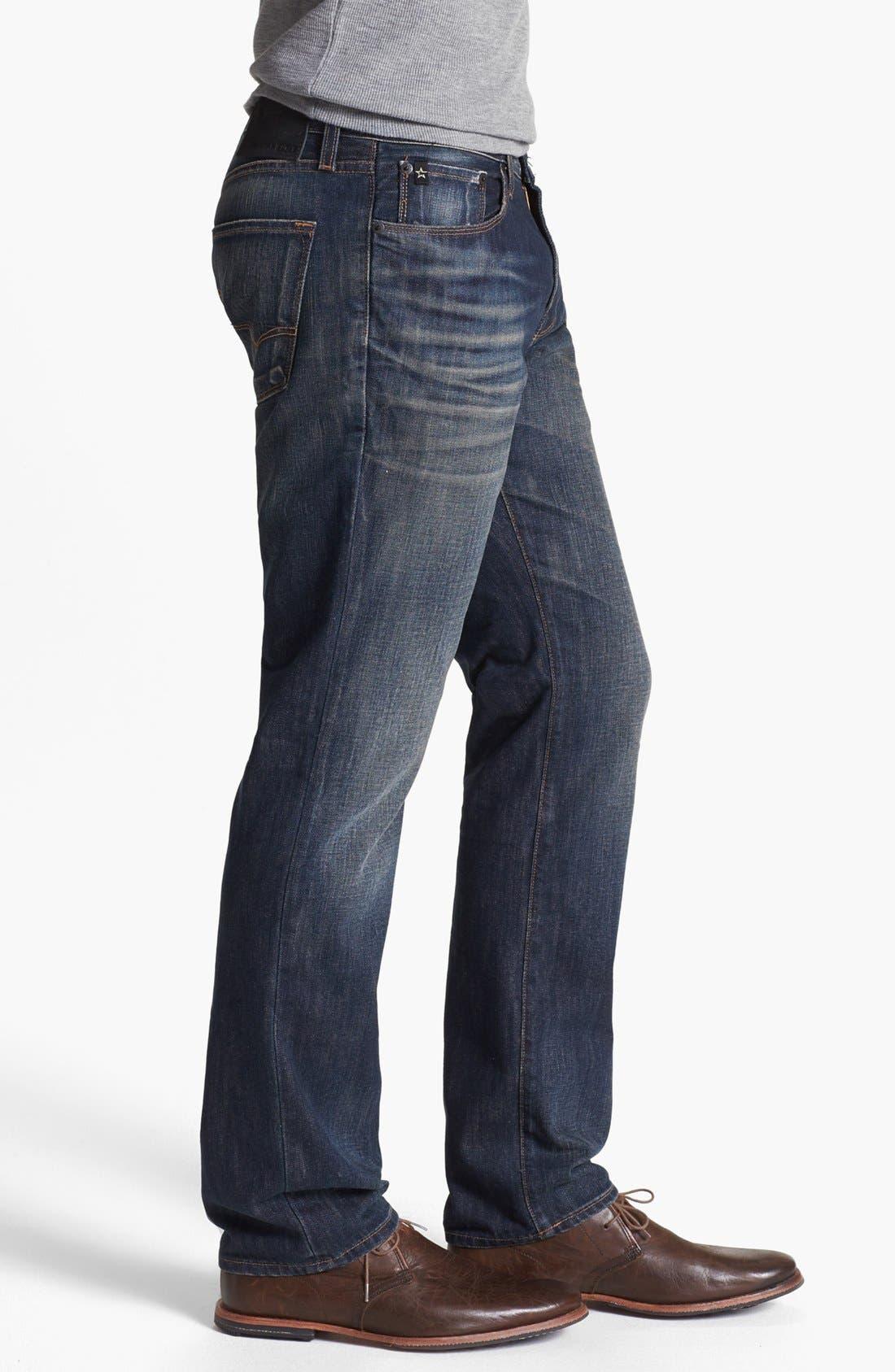 Alternate Image 3  - Big Star 'Division' Straight Leg Jeans (6 Year Piston)