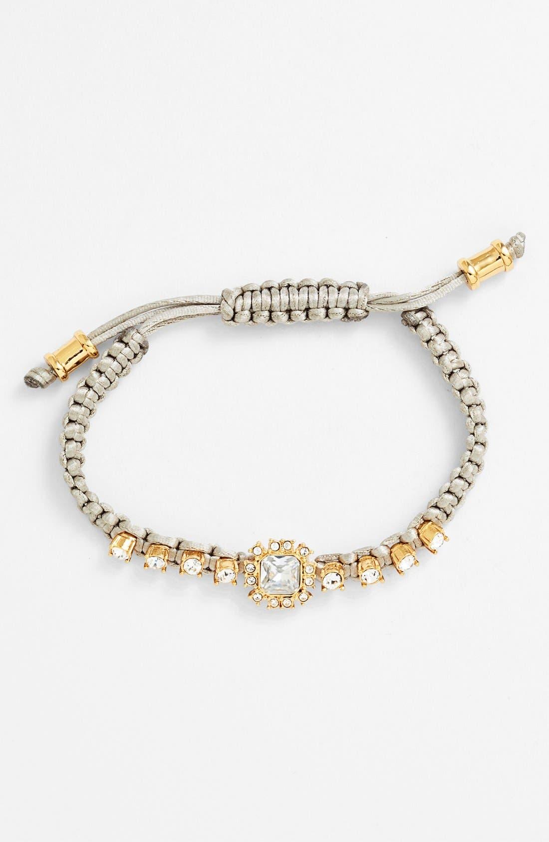 Alternate Image 1 Selected - Vince Camuto 'Study' Macramé Bracelet