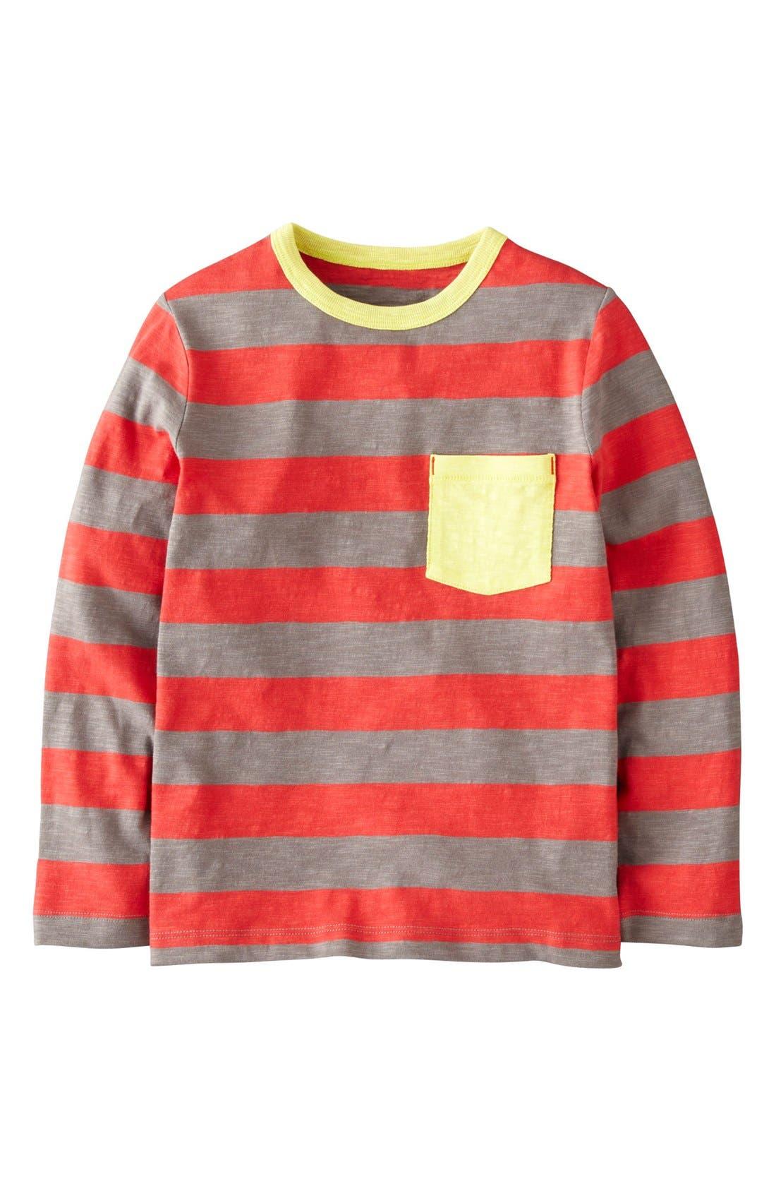 Alternate Image 1 Selected - Mini Boden Color Pop T-Shirt (Toddler Boys, Little Boys & Big Boys)