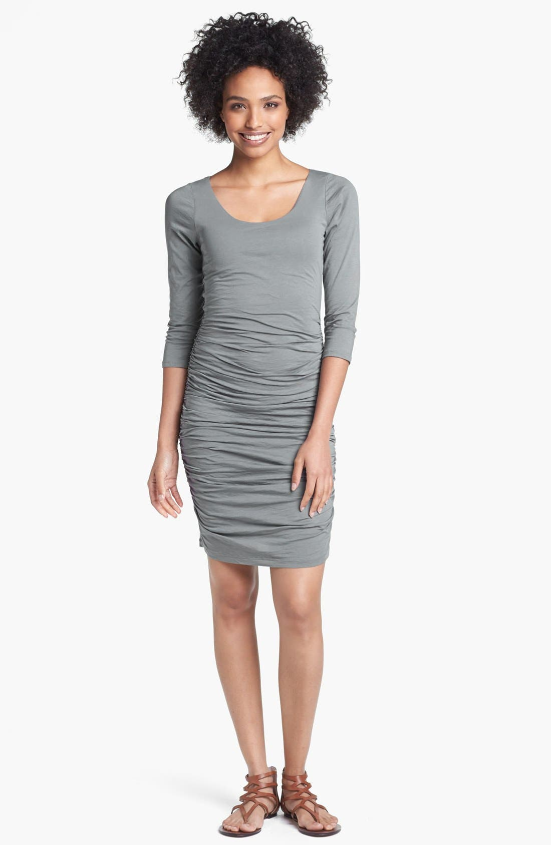 Alternate Image 1 Selected - Velvet by Graham & Spencer Ruched Jersey Dress