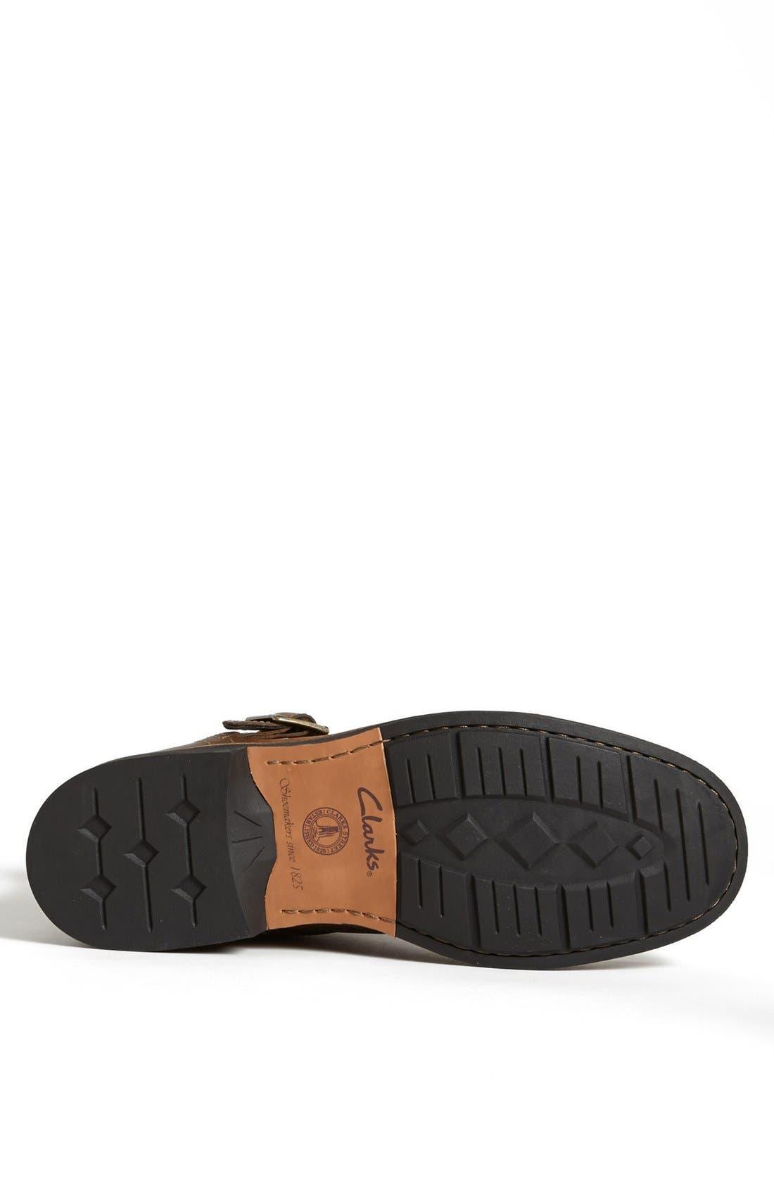 Alternate Image 4  - Clarks® 'Meldon Strap' Zip Boot