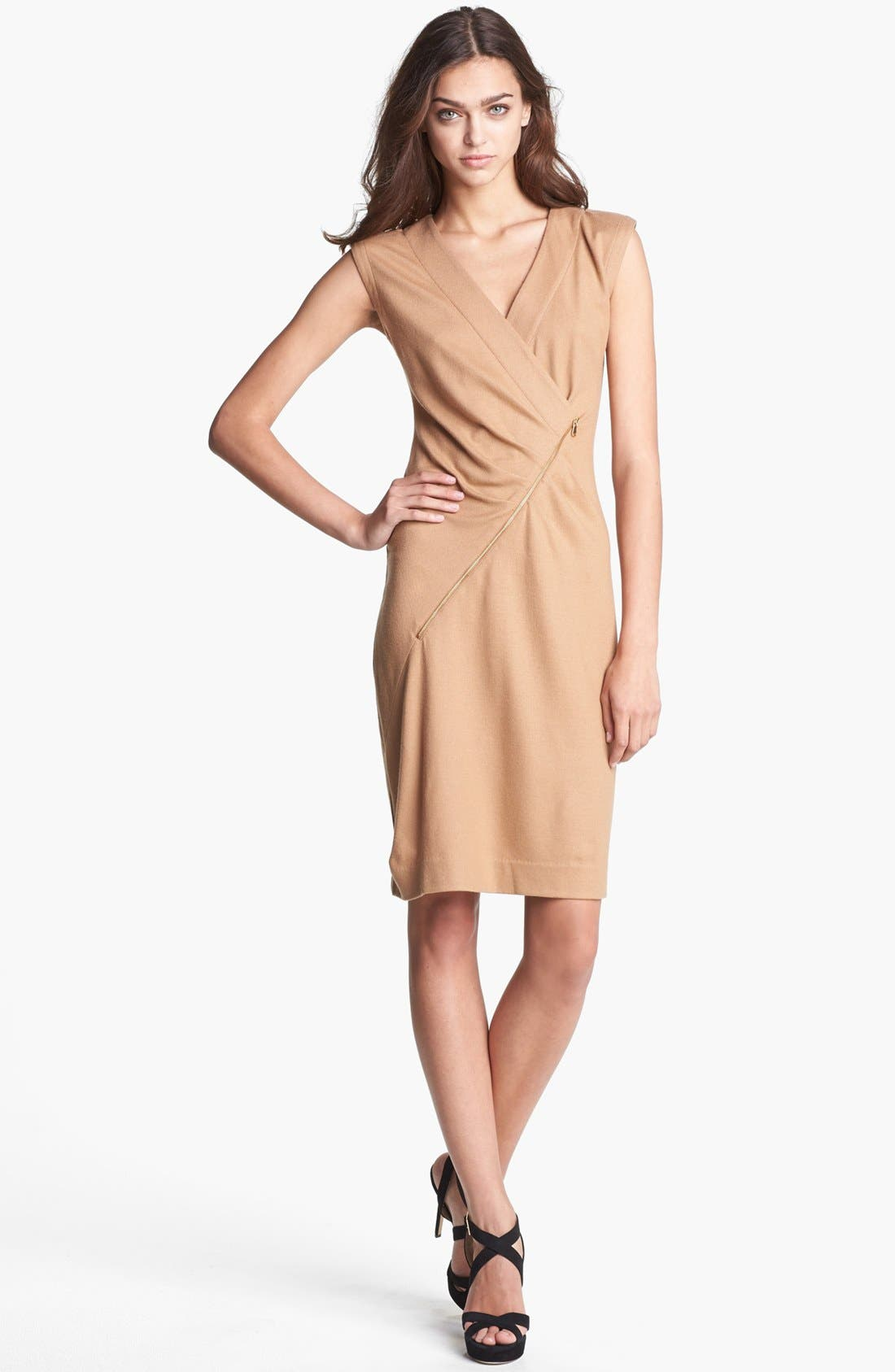 Alternate Image 1 Selected - MARC BY MARC JACOBS 'Mercedes' Wool Sheath Dress