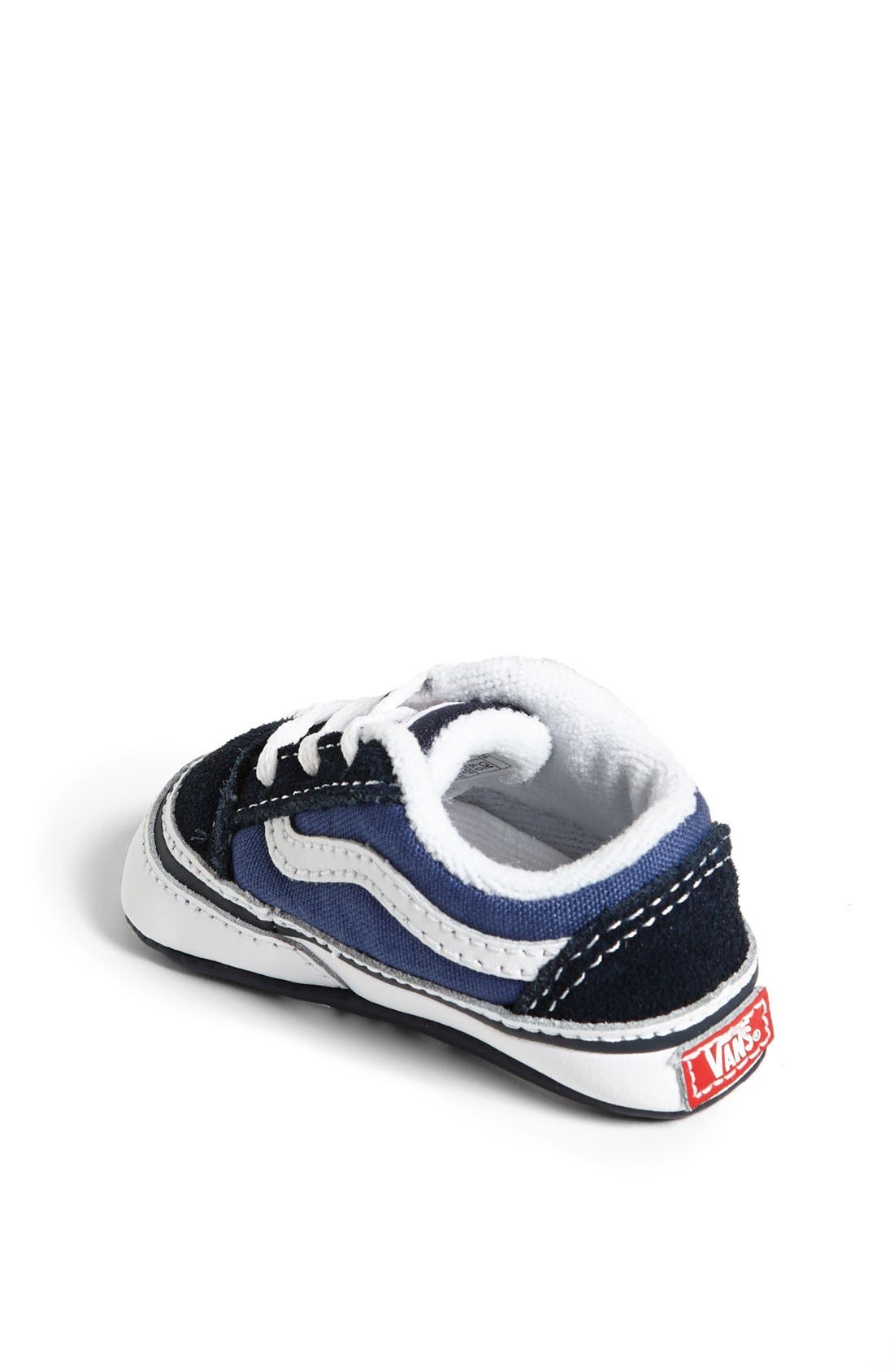 Alternate Image 2  - Vans 'Old Skool' Crib Shoe (Baby)