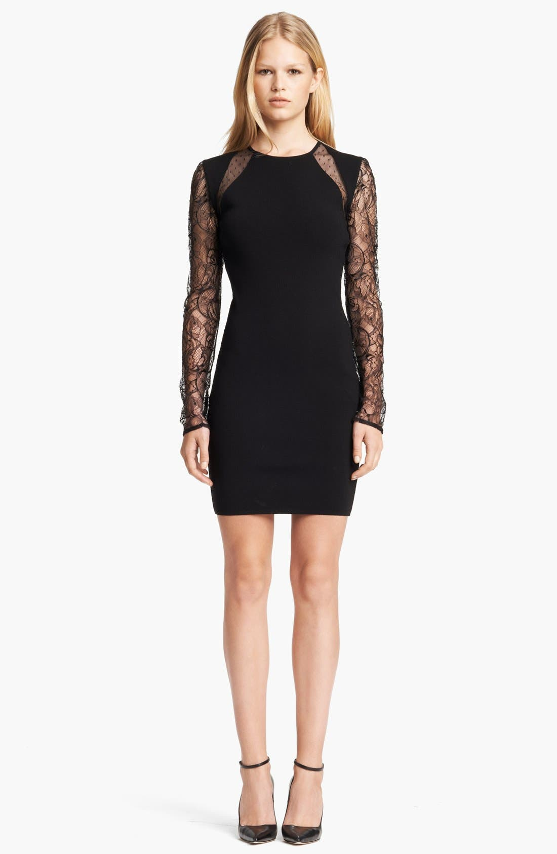 Main Image - Emilio Pucci Lace Sleeve Dress
