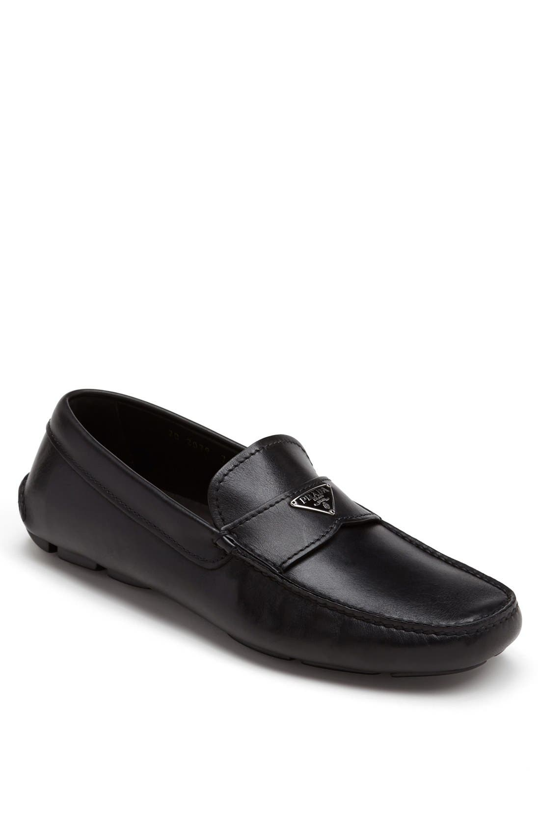 Alternate Image 1 Selected - Prada Logo Bit Driving Shoe (Men)