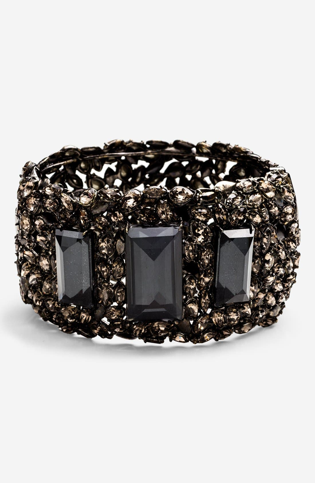 Alternate Image 1 Selected - Alexis Bittar 'Miss Havisham - Pavo' Hinged Bracelet