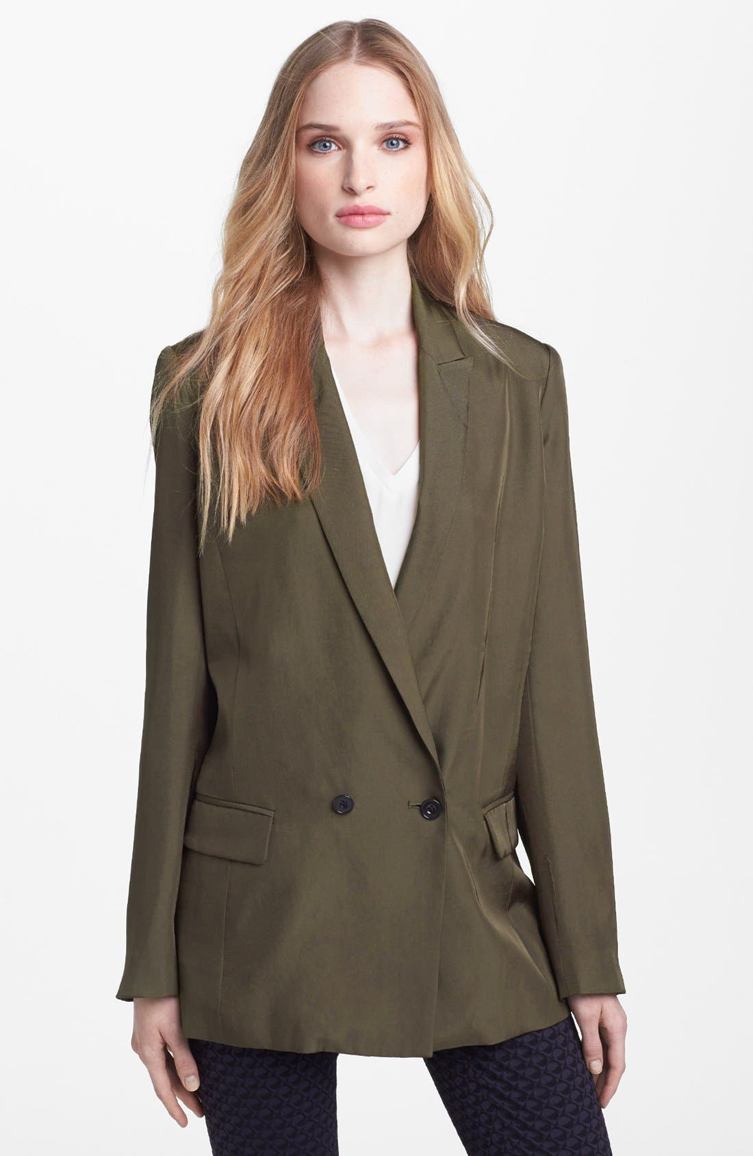 Alternate Image 1 Selected - MARC BY MARC JACOBS 'Caterina' Twill Jacket
