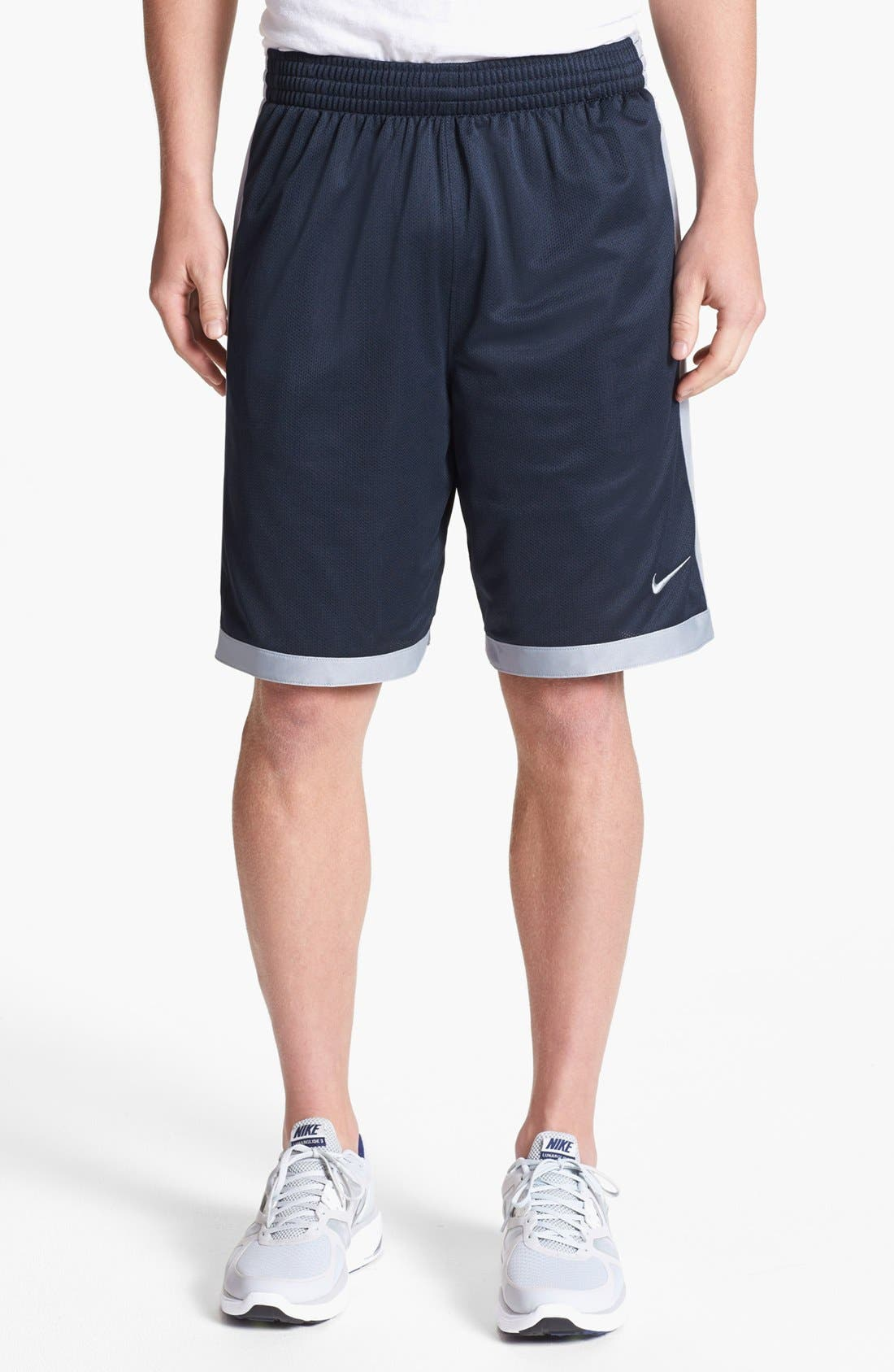 Alternate Image 1 Selected - Nike 'Cash' Mesh Shorts