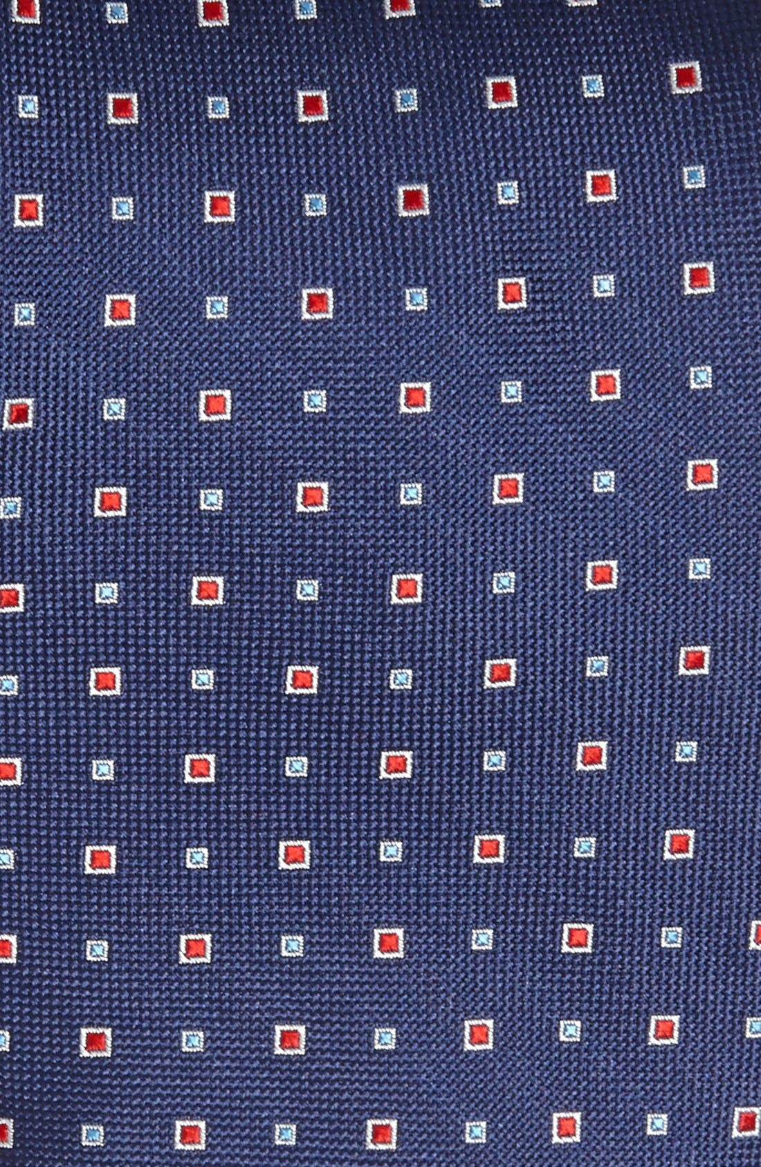 Alternate Image 2  - Nordstrom Woven Silk Tie (Tall)