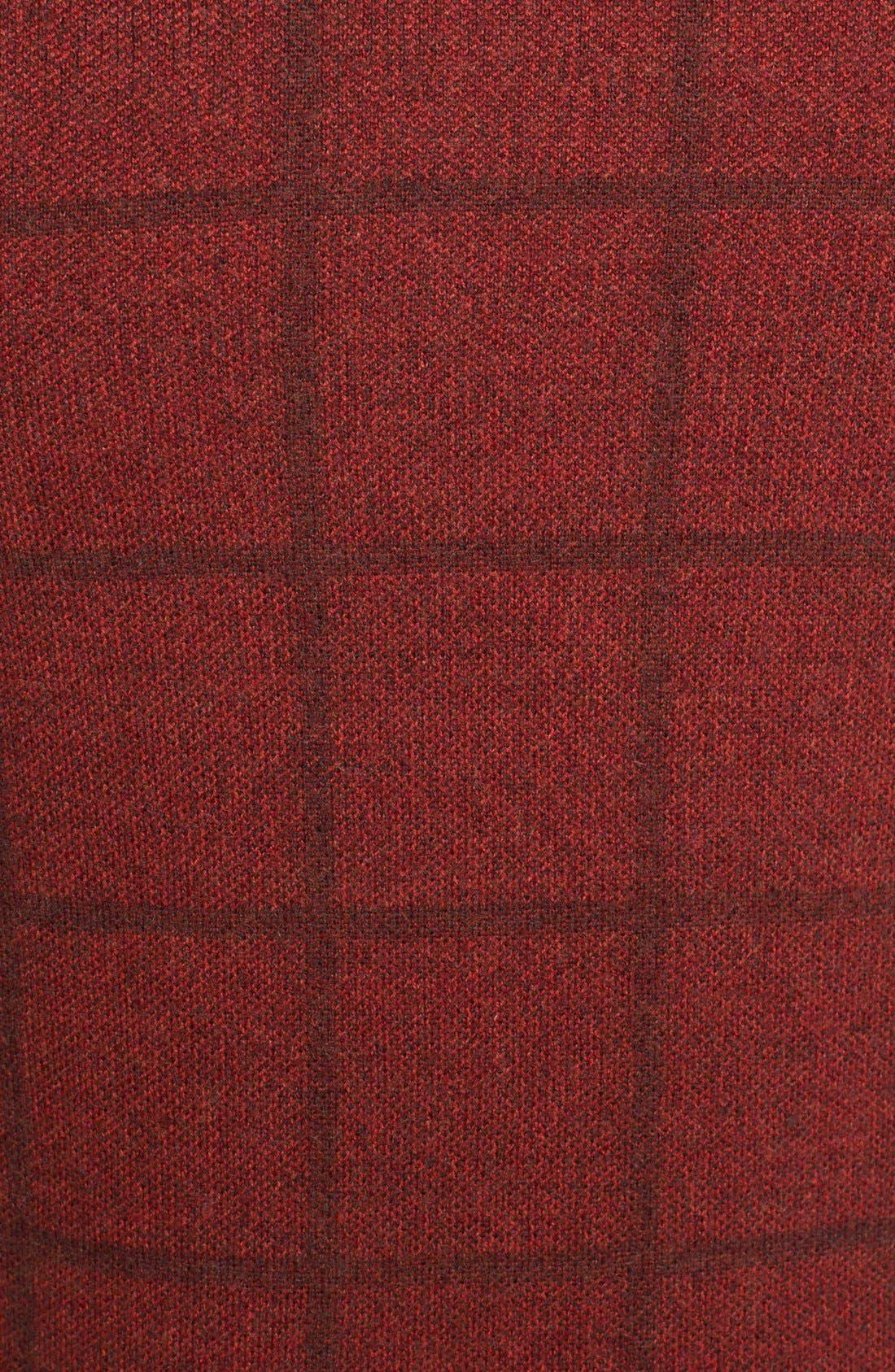 Alternate Image 3  - J. Press York Street Windowpane Merino Wool Crewneck Sweater
