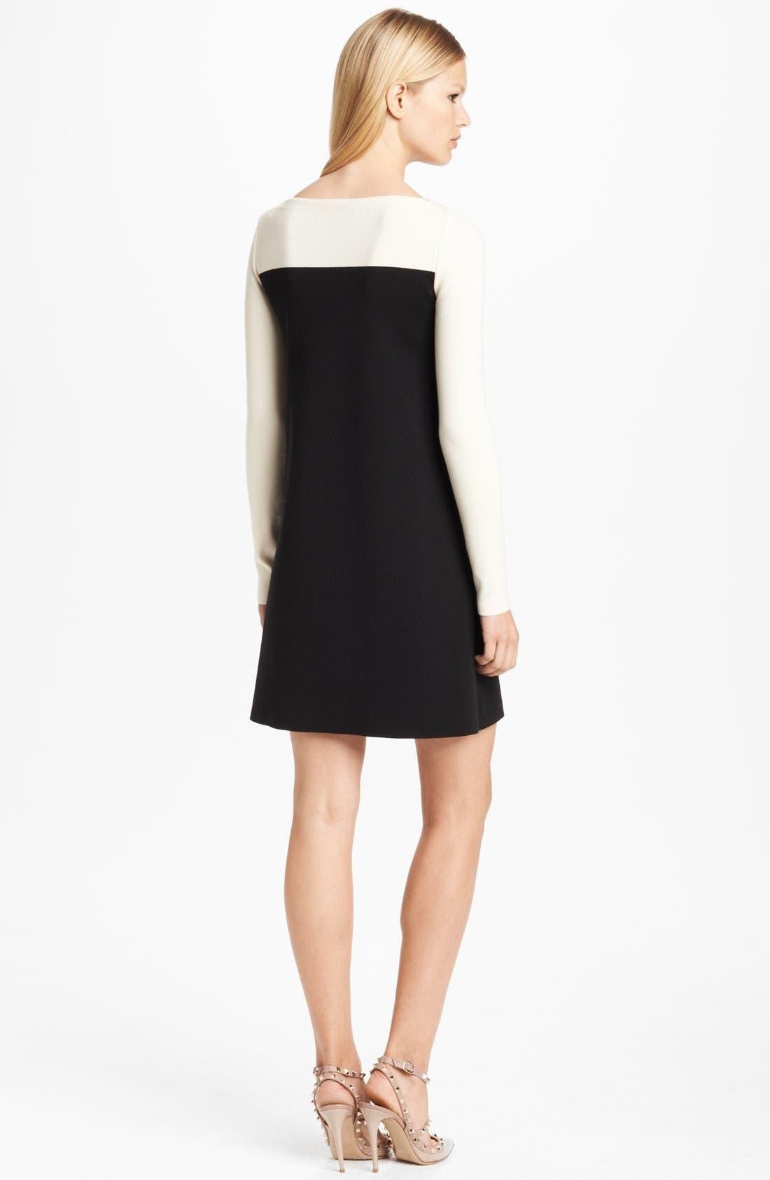Alternate Image 2  - Valentino Lace Inset Tunic Dress