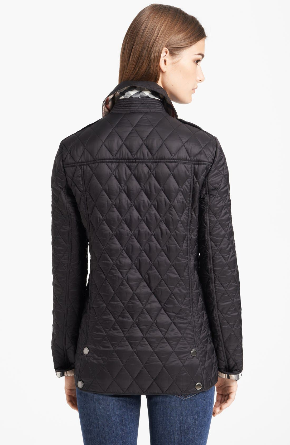 Alternate Image 2  - Burberry Brit 'Pirmont' Quilted Jacket