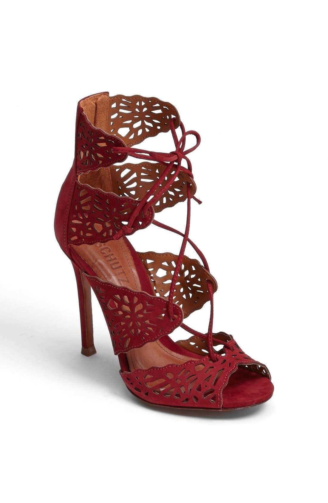 Main Image - Schutz 'Ciara' Perforated Sandal