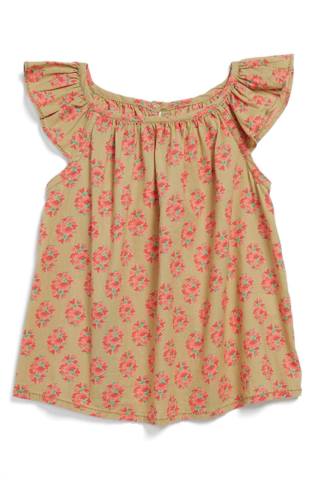 Main Image - Peek 'Poet' Top (Baby Girls)