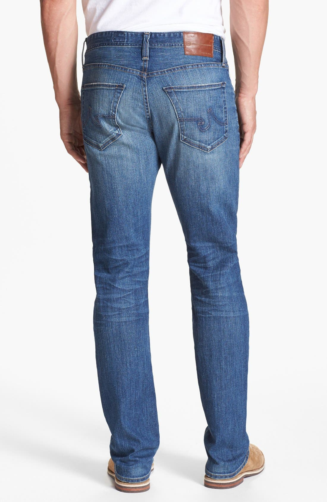 Alternate Image 2  - AG 'Graduate' Tailored Fit Straight Leg Jeans (13 Year Origin)